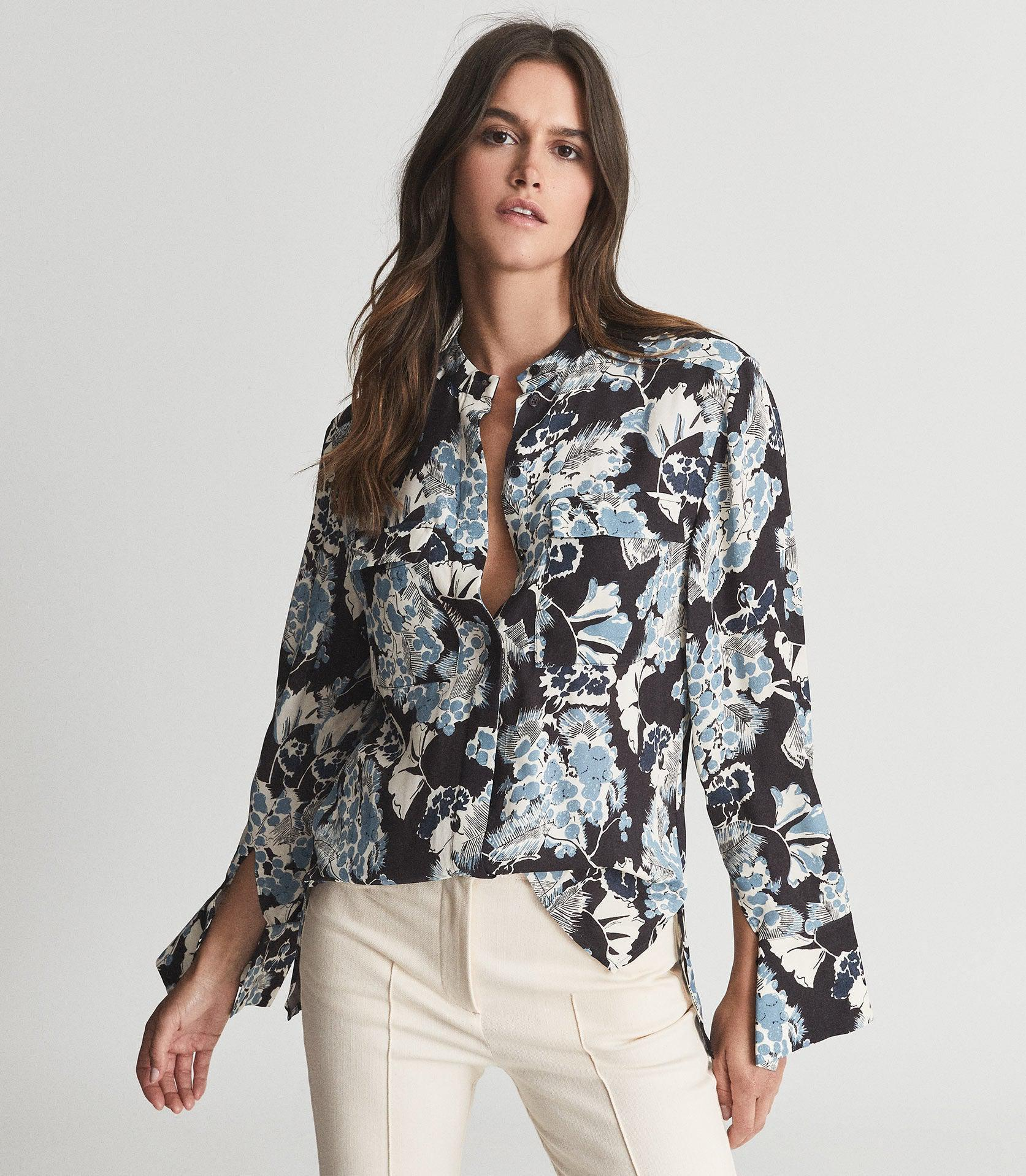 MIKA - FLORAL PRINTED BLOUSE 1