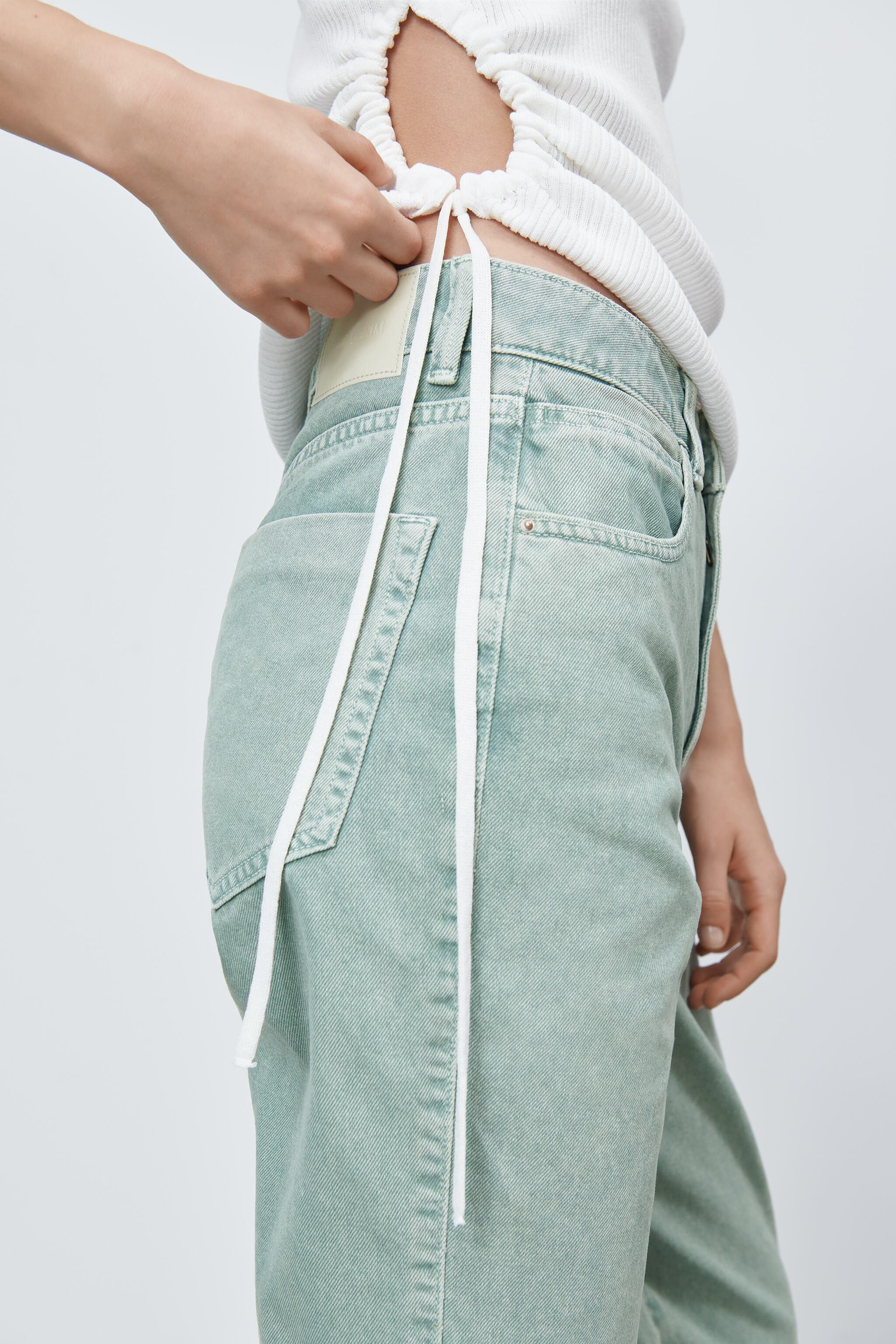 Z1975 HIGH RISE STRAIGHT JEANS 4