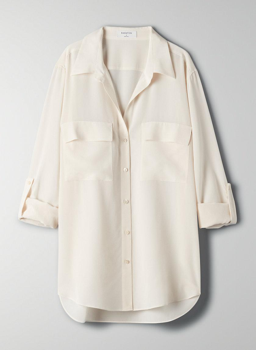 New Utility Silk Button-Up 3