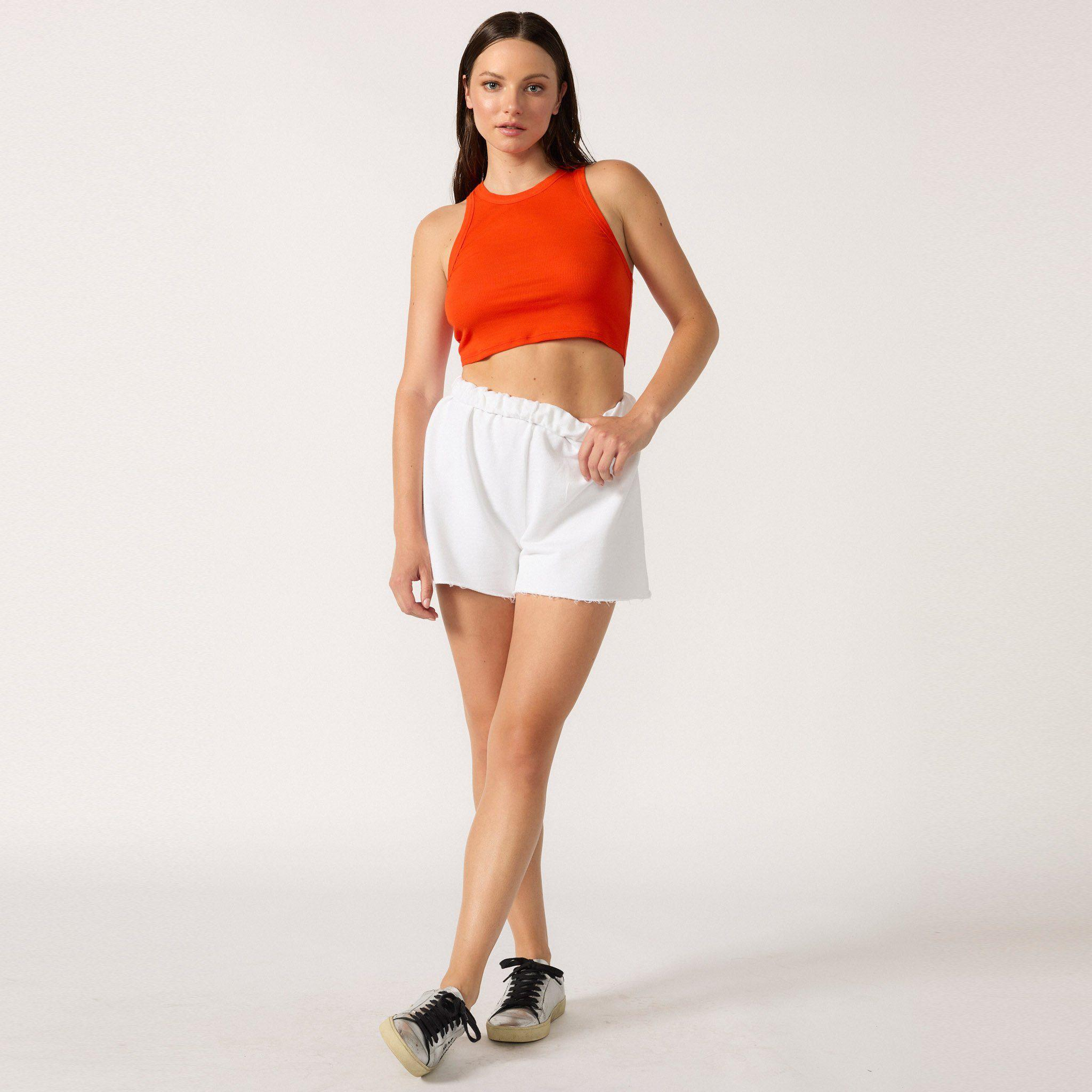 The Live-in Cropped Rib Tank 7