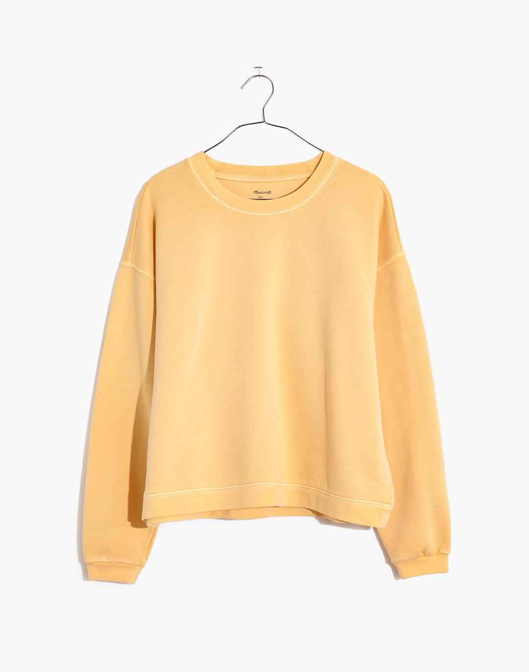(Re)sourced Cotton Swing Sweatshirt