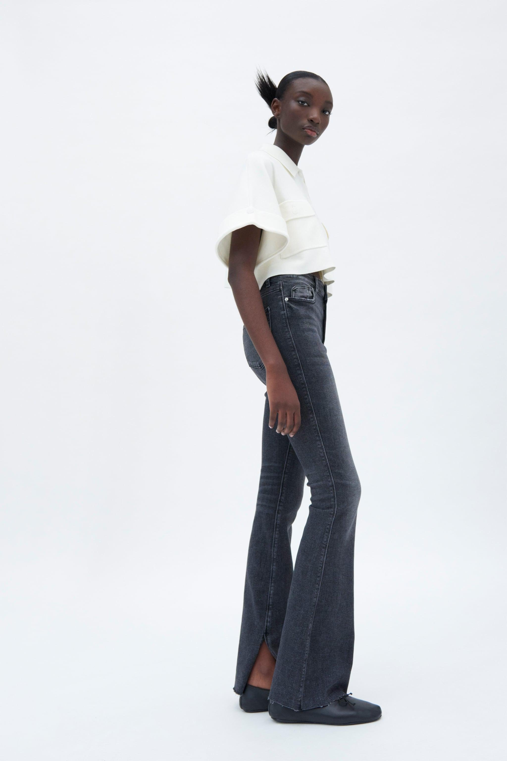 FLARED HIGH RISE Z1975 SKINNY JEANS 0