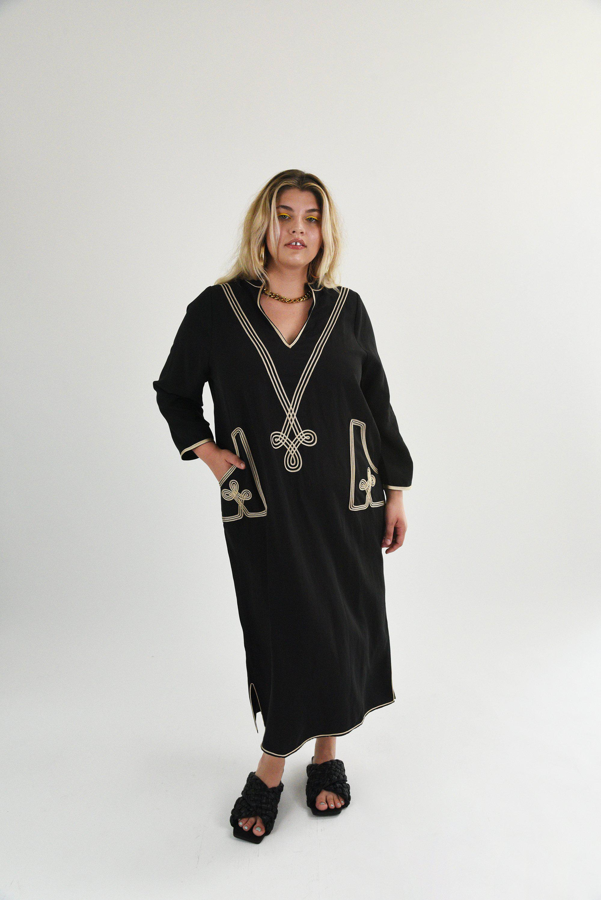 The Marrakesh - Embroidered Dress 1