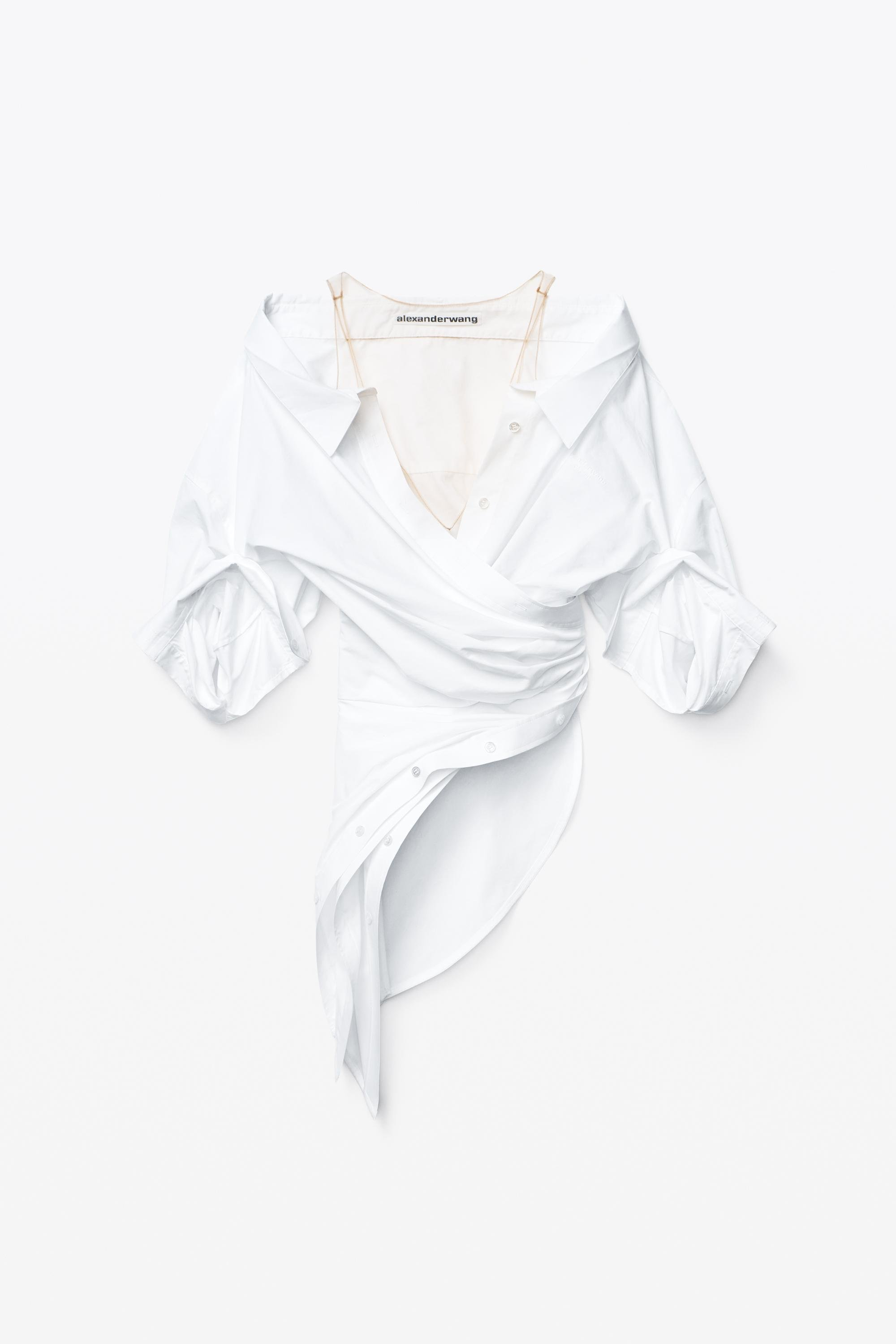 deconstructed top in crushed cotton 1