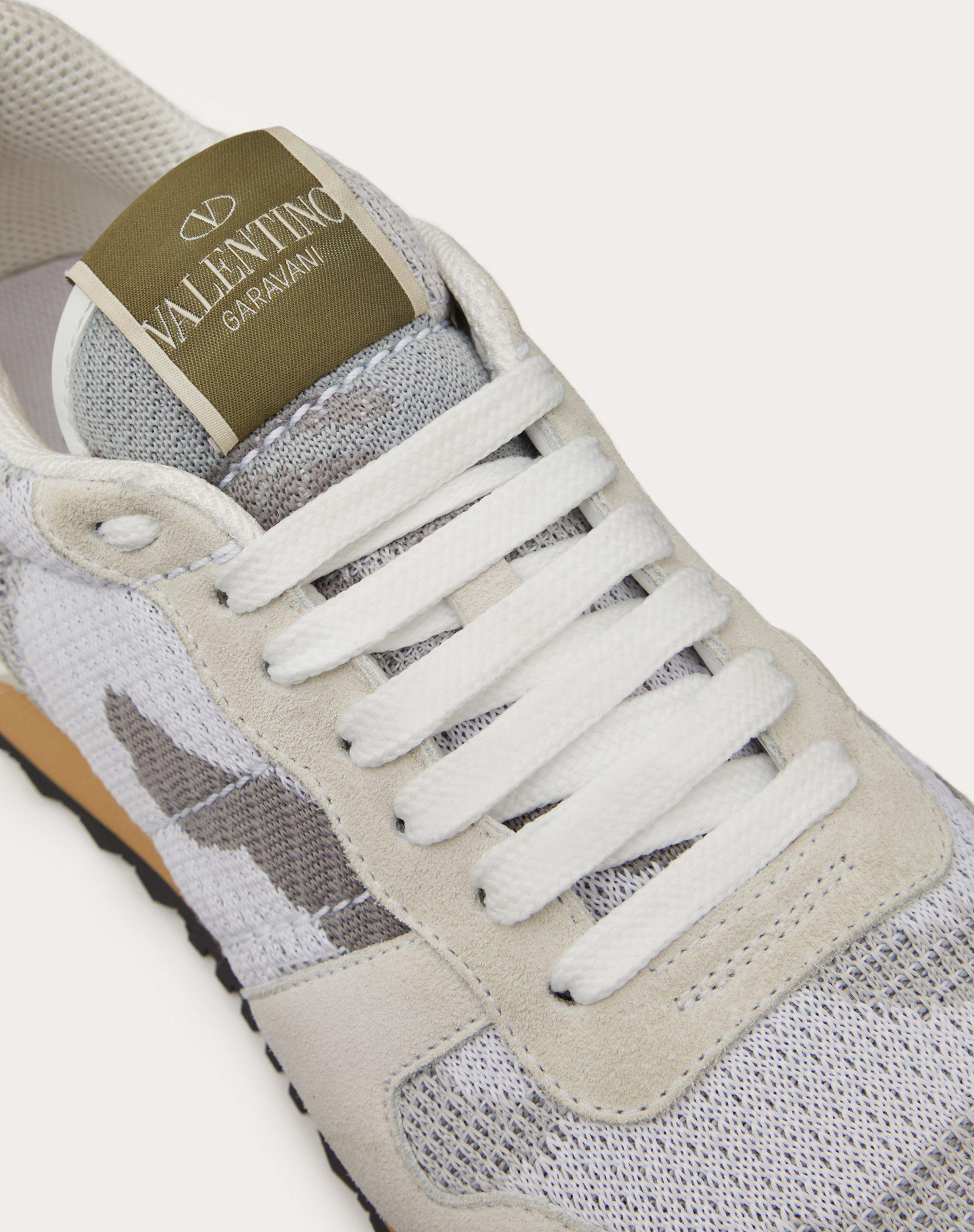 Mesh Fabric Camouflage Sneaker 4