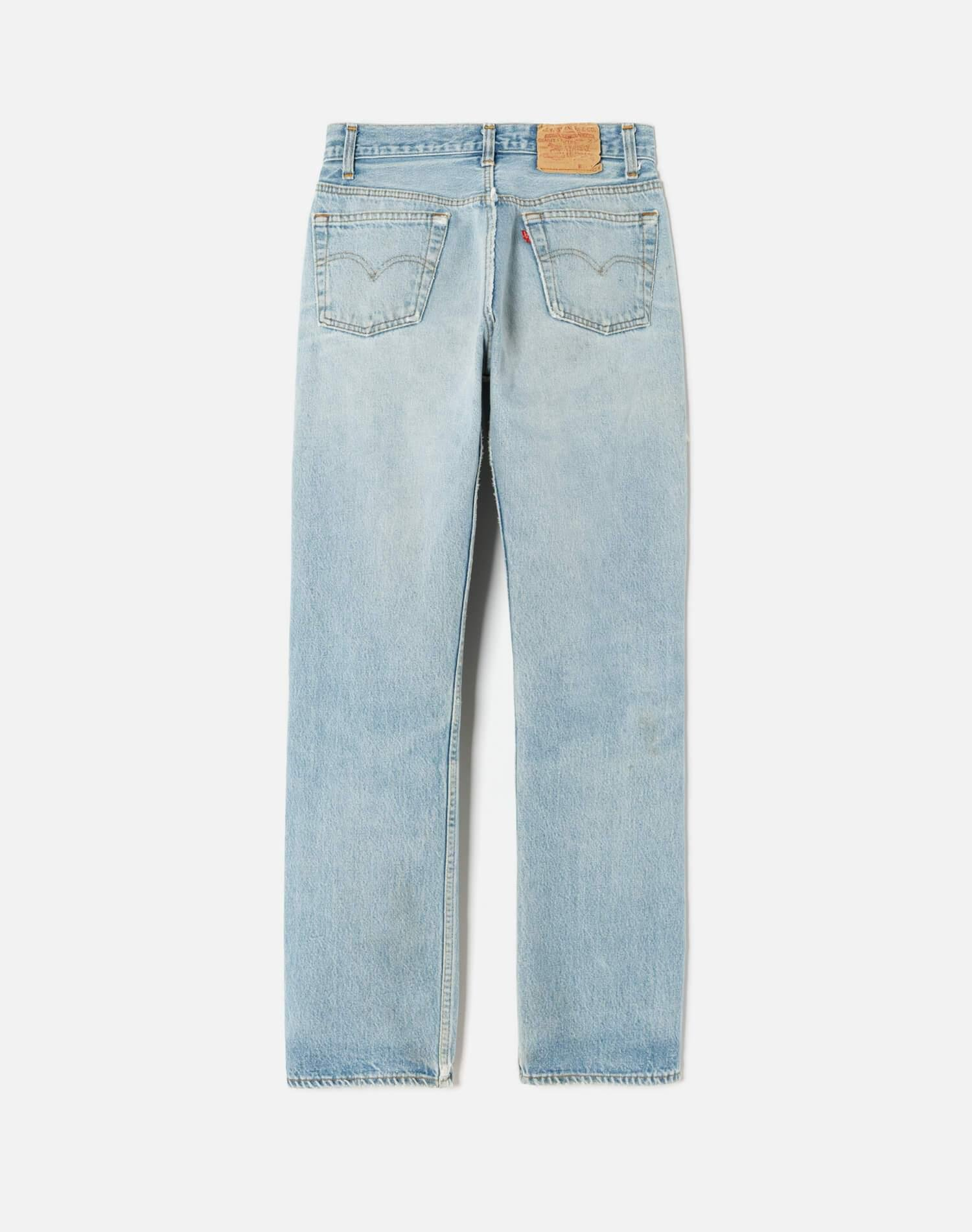 70s/80s Vintage Levi's 501 High Rise Relaxed Straight Leg Size 28 - #251 1