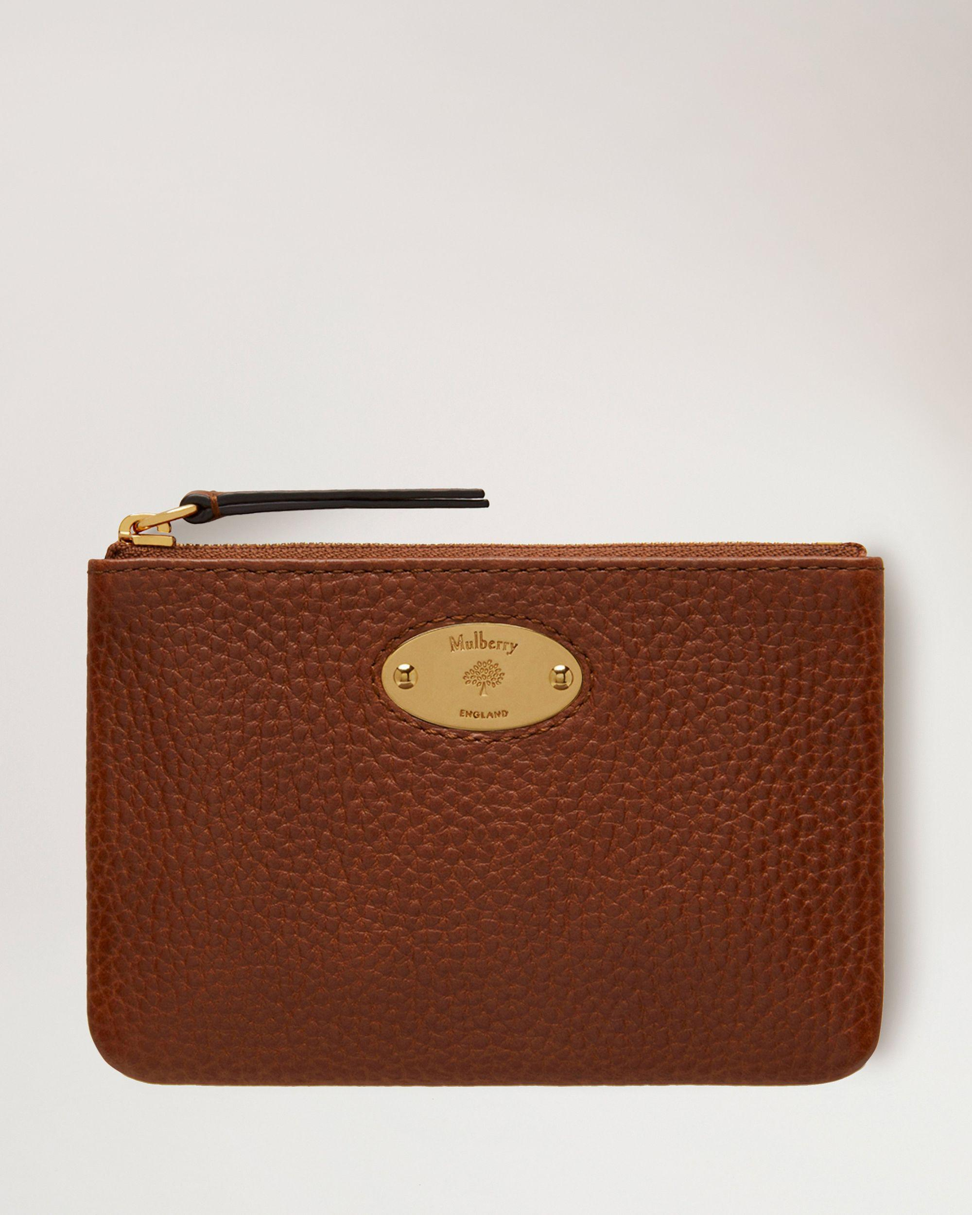 Mulberry Plaque Small Zip Coin Pouch