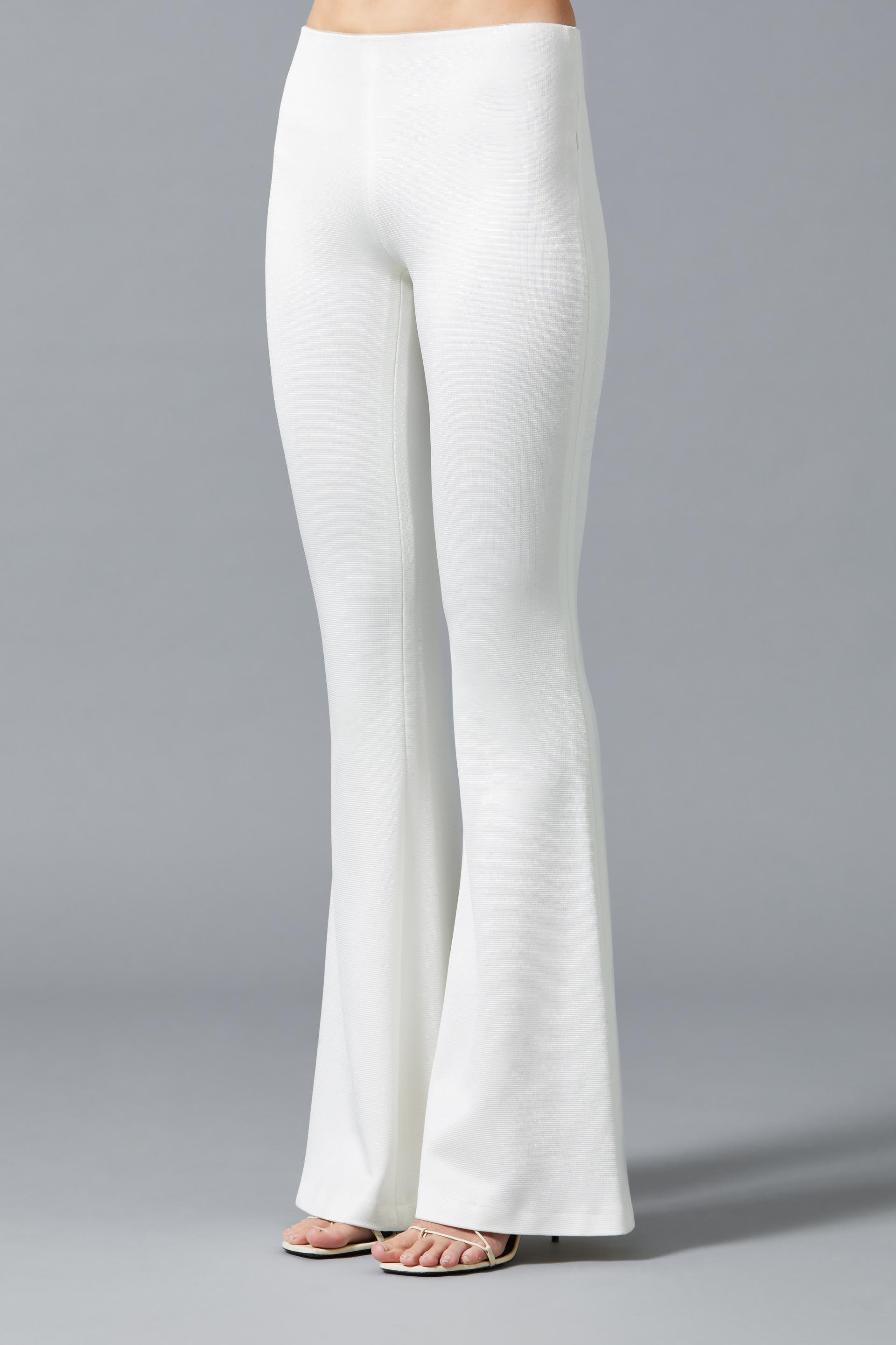 Jersey Flared Bridal Trousers 3
