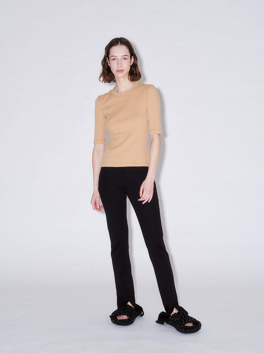 Cropped Sleeve T-Shirt 4
