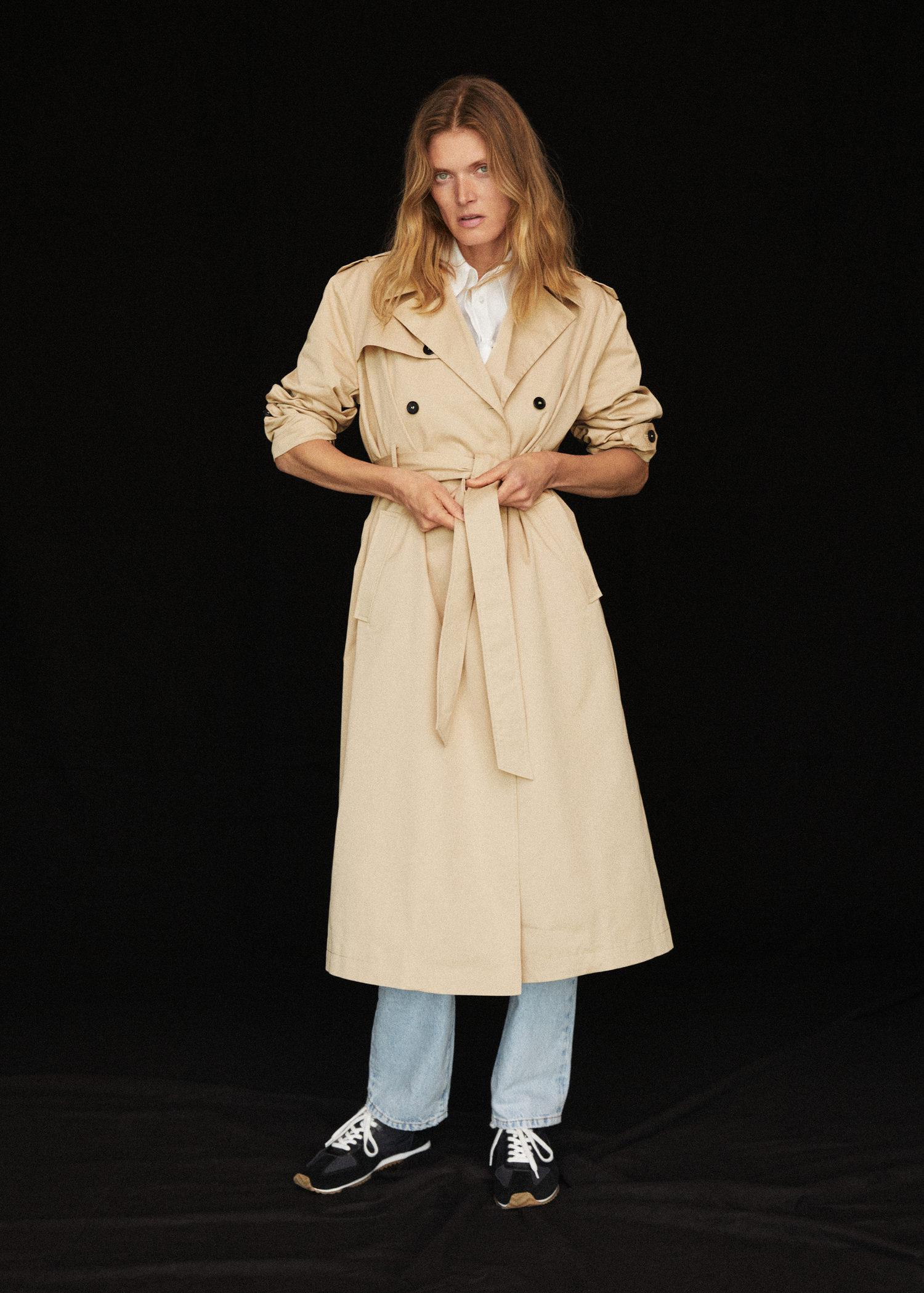Classic cotton trench coat 7