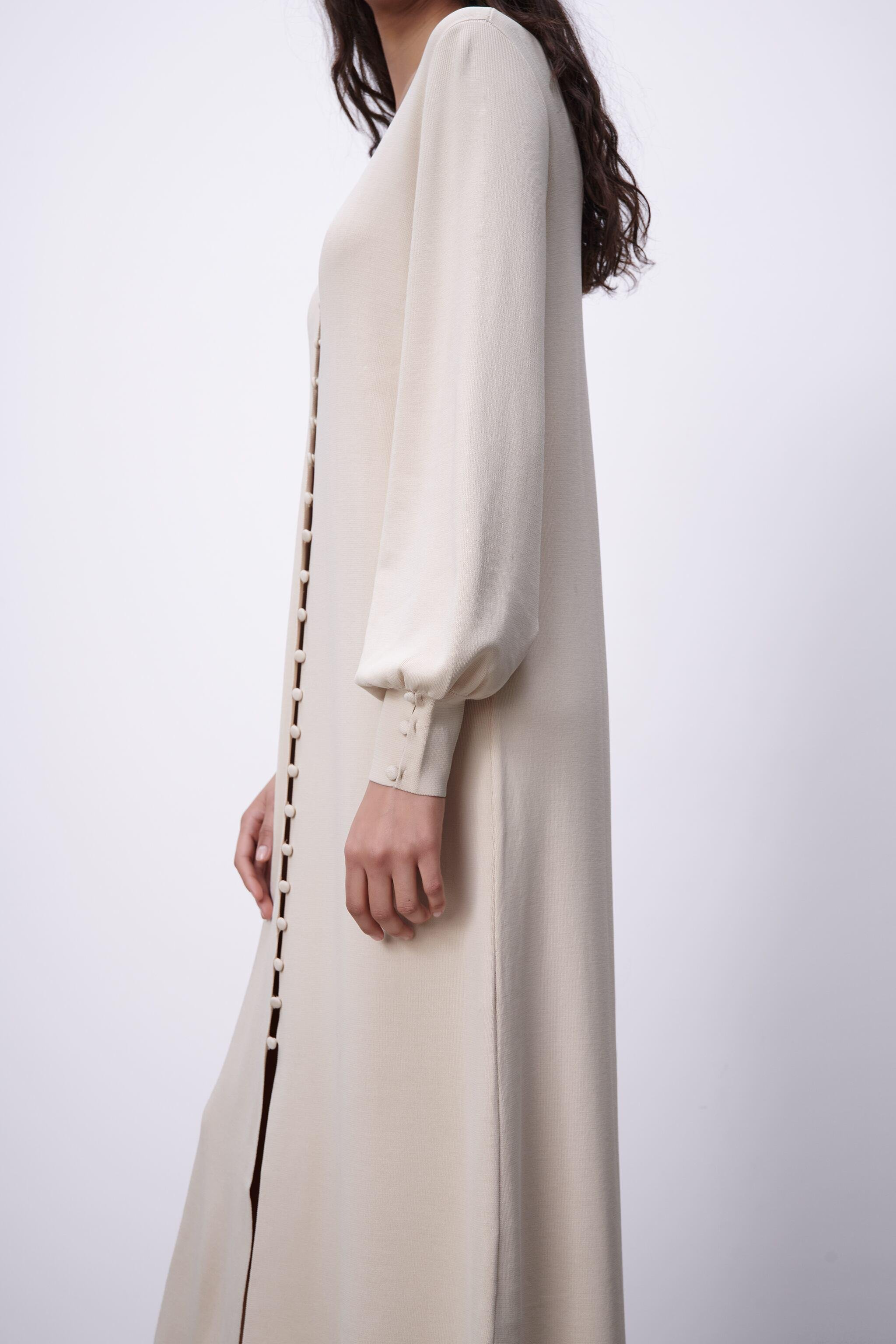 LIMITED EDITION BUTTONED KNIT DRESS 2