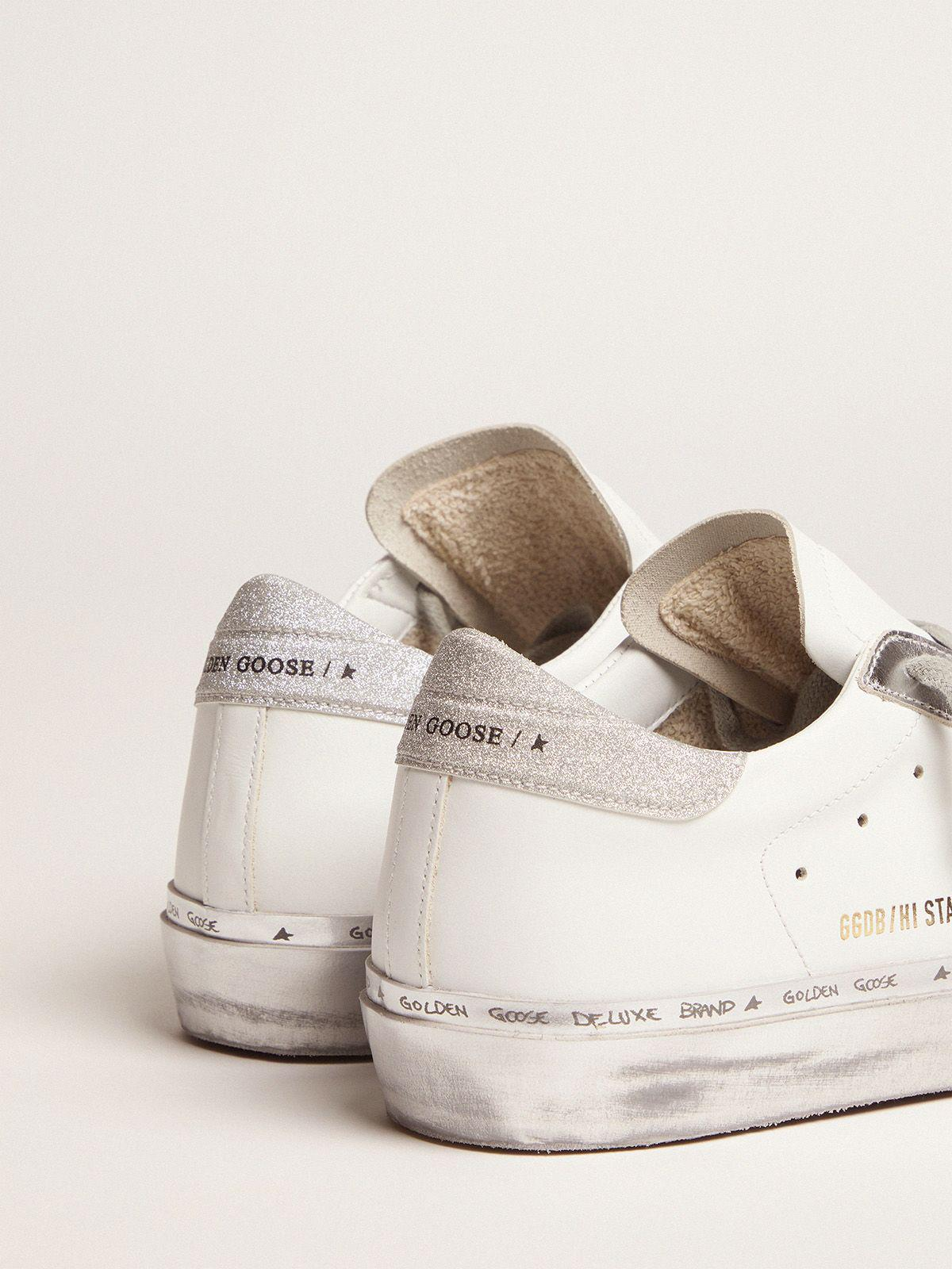 Hi Star sneakers with camouflage star and glittery heel tab 3