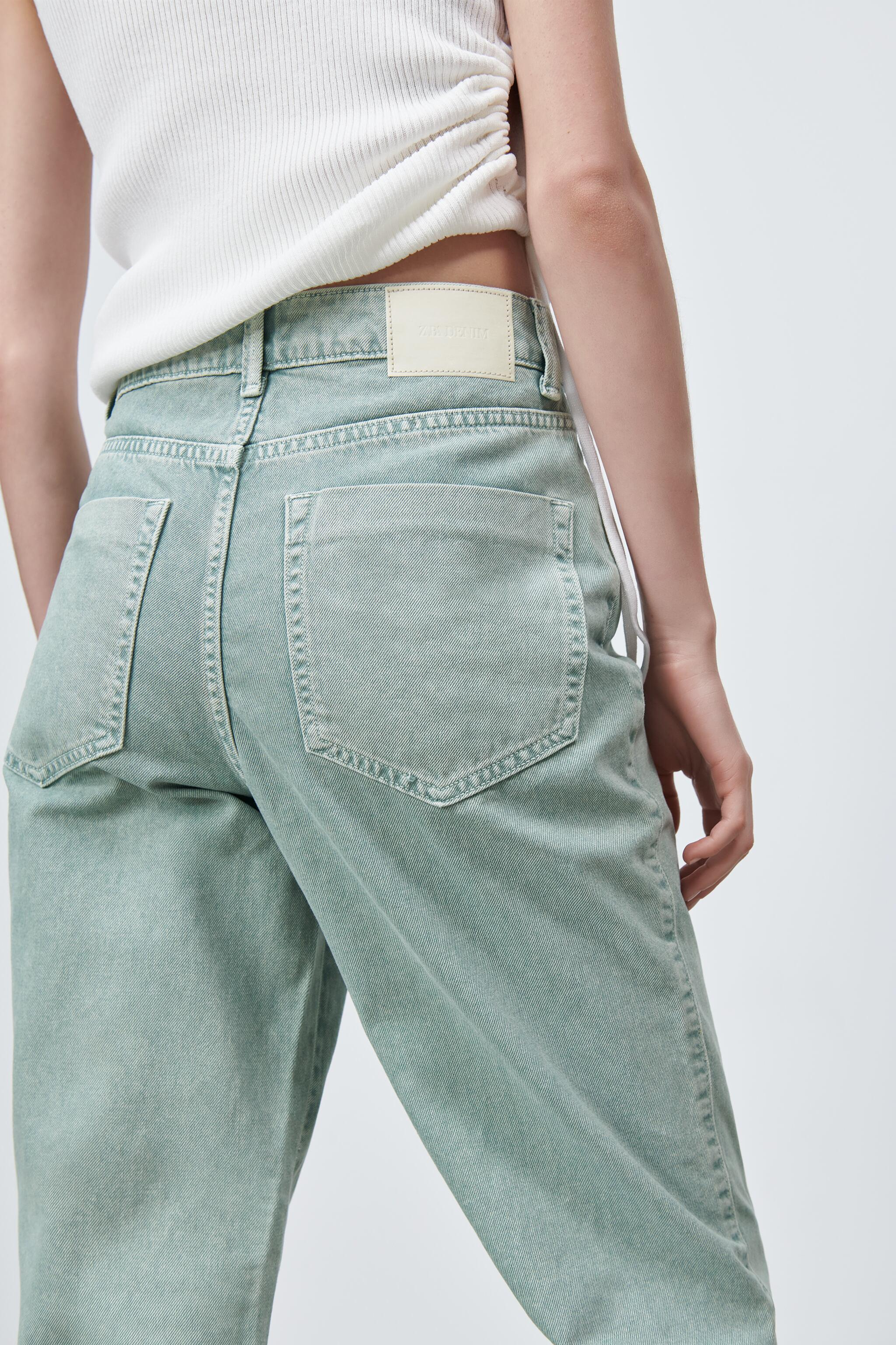 Z1975 HIGH RISE STRAIGHT JEANS 6