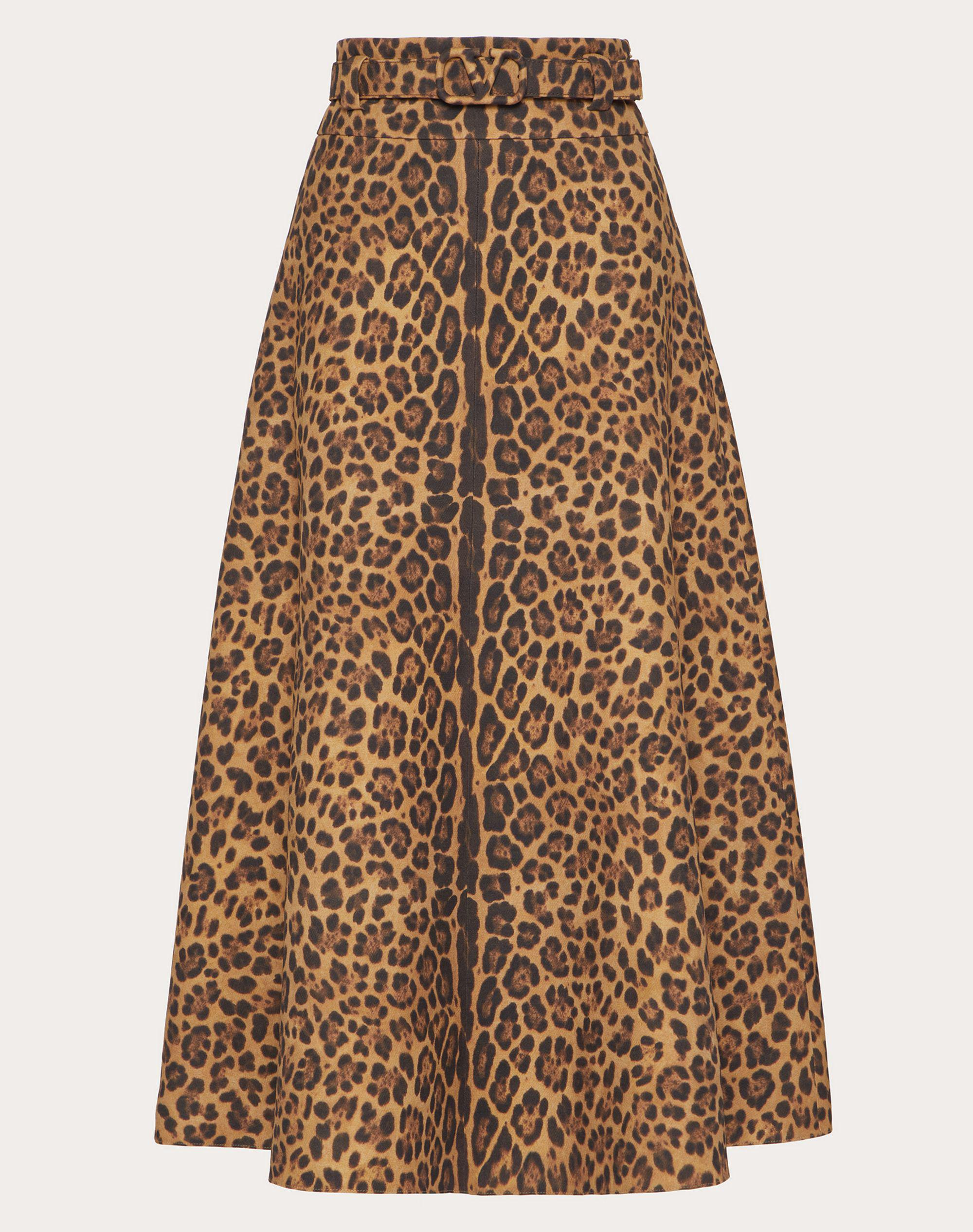 PRINTED CREPE COUTURE SKIRT 3