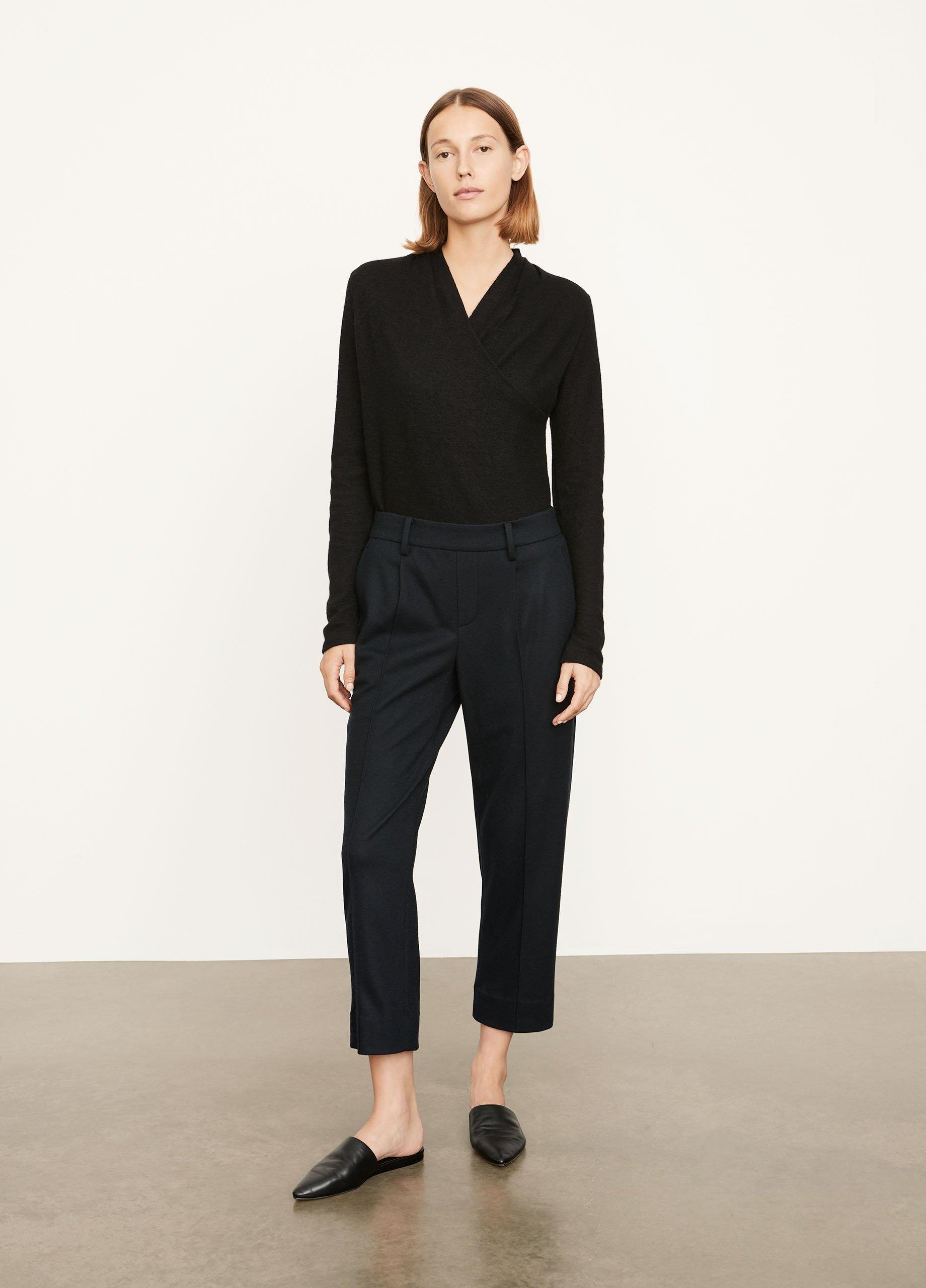 Cozy Pintuck Pull On Pant