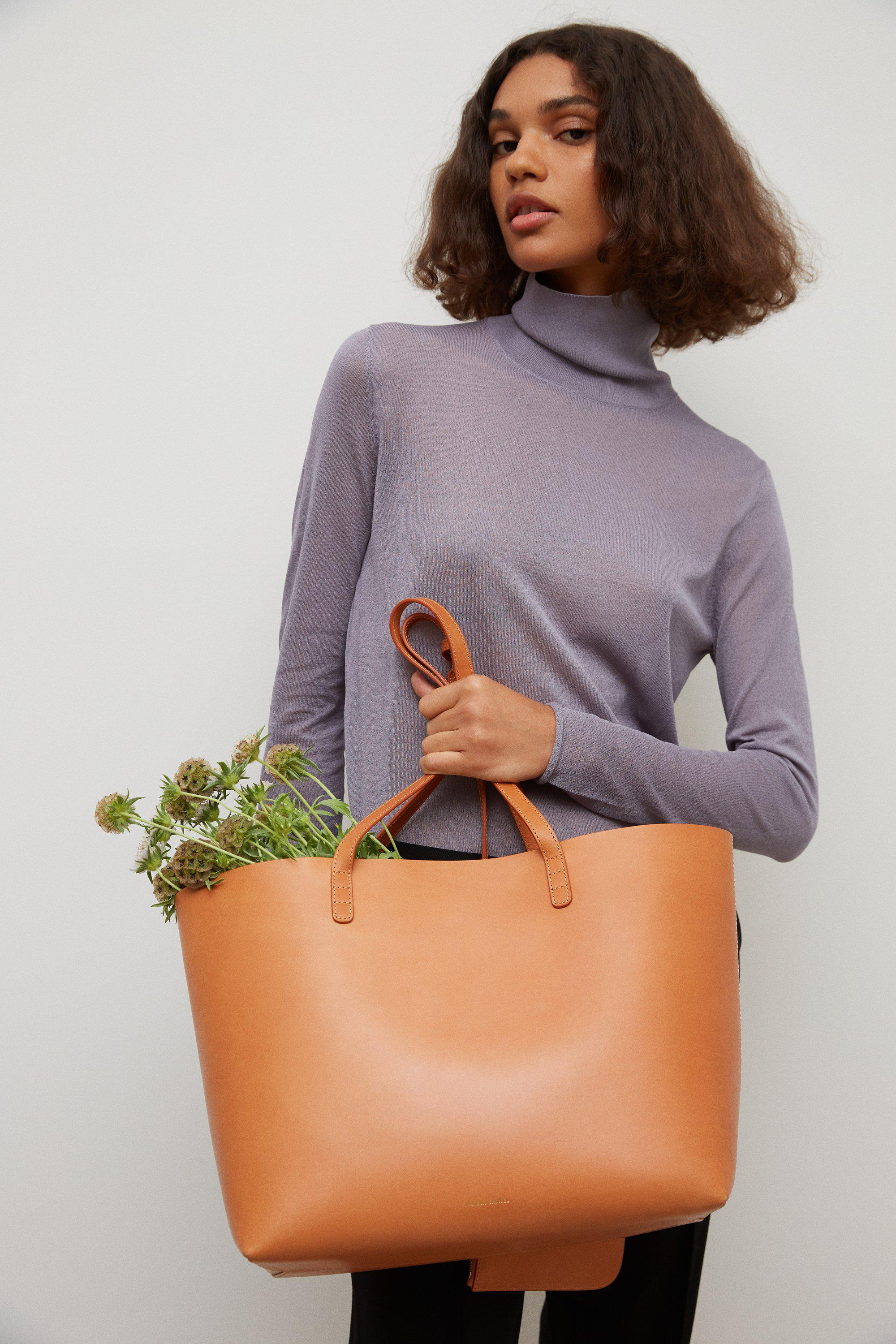 Large Tote - Cammello/Rosa 3