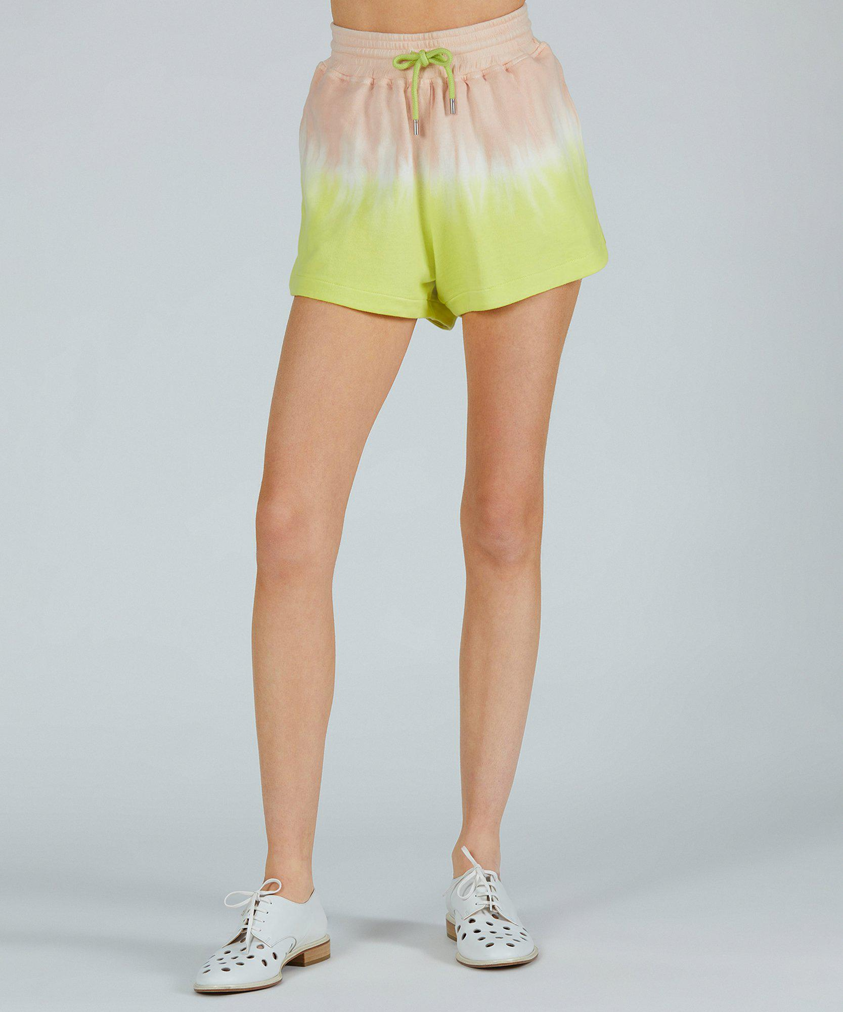 French Terry Pull-On Short - Shell Combo Dip Dye