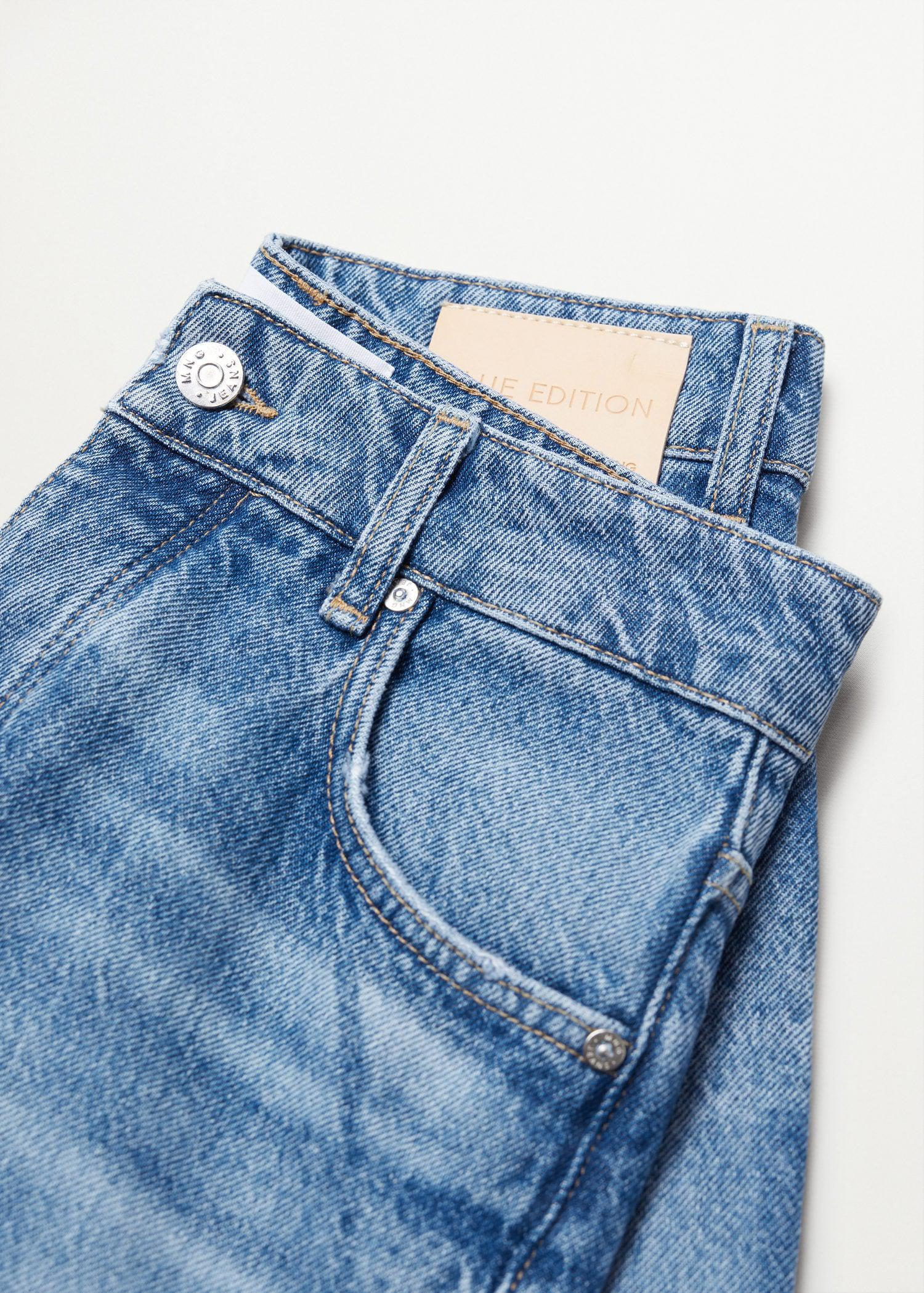 Ankle-length straight-fit jeans 7