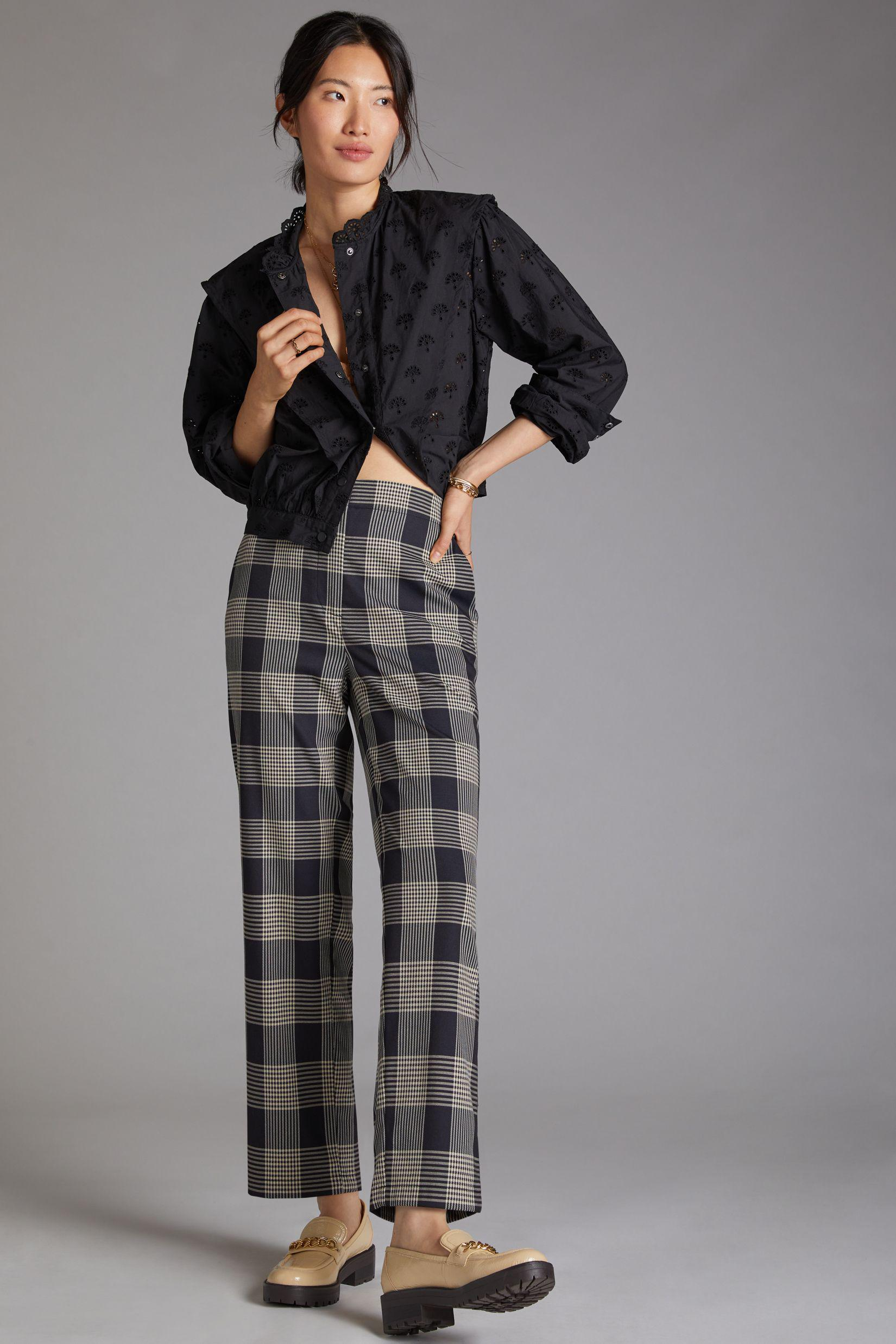 Maeve Tapered Pull-On Pants