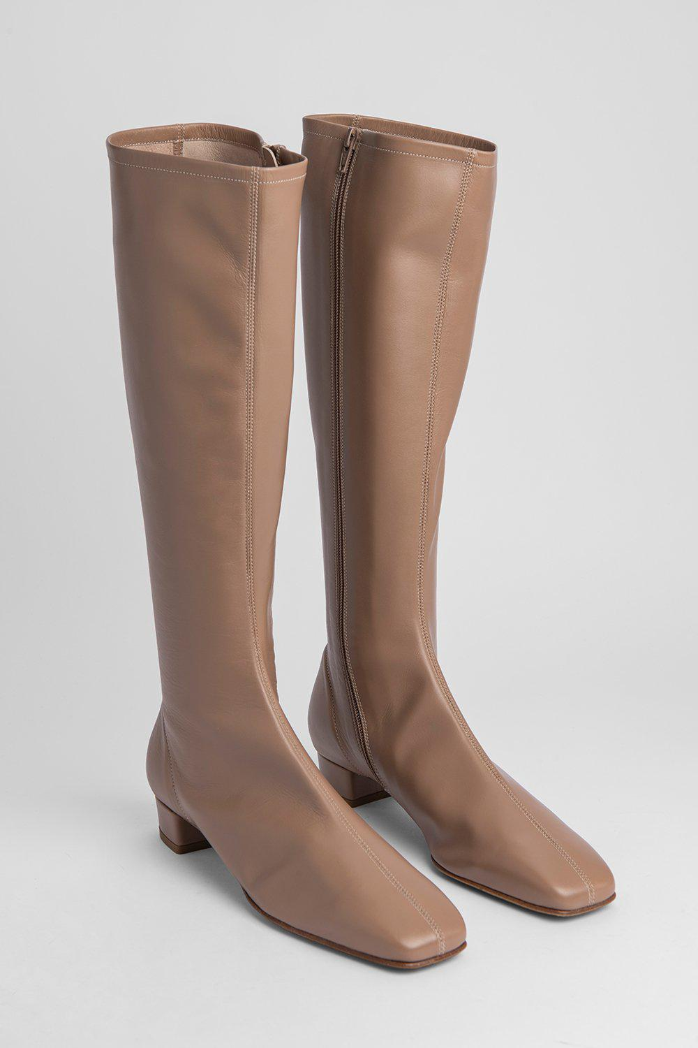 Edie Nude Leather 1