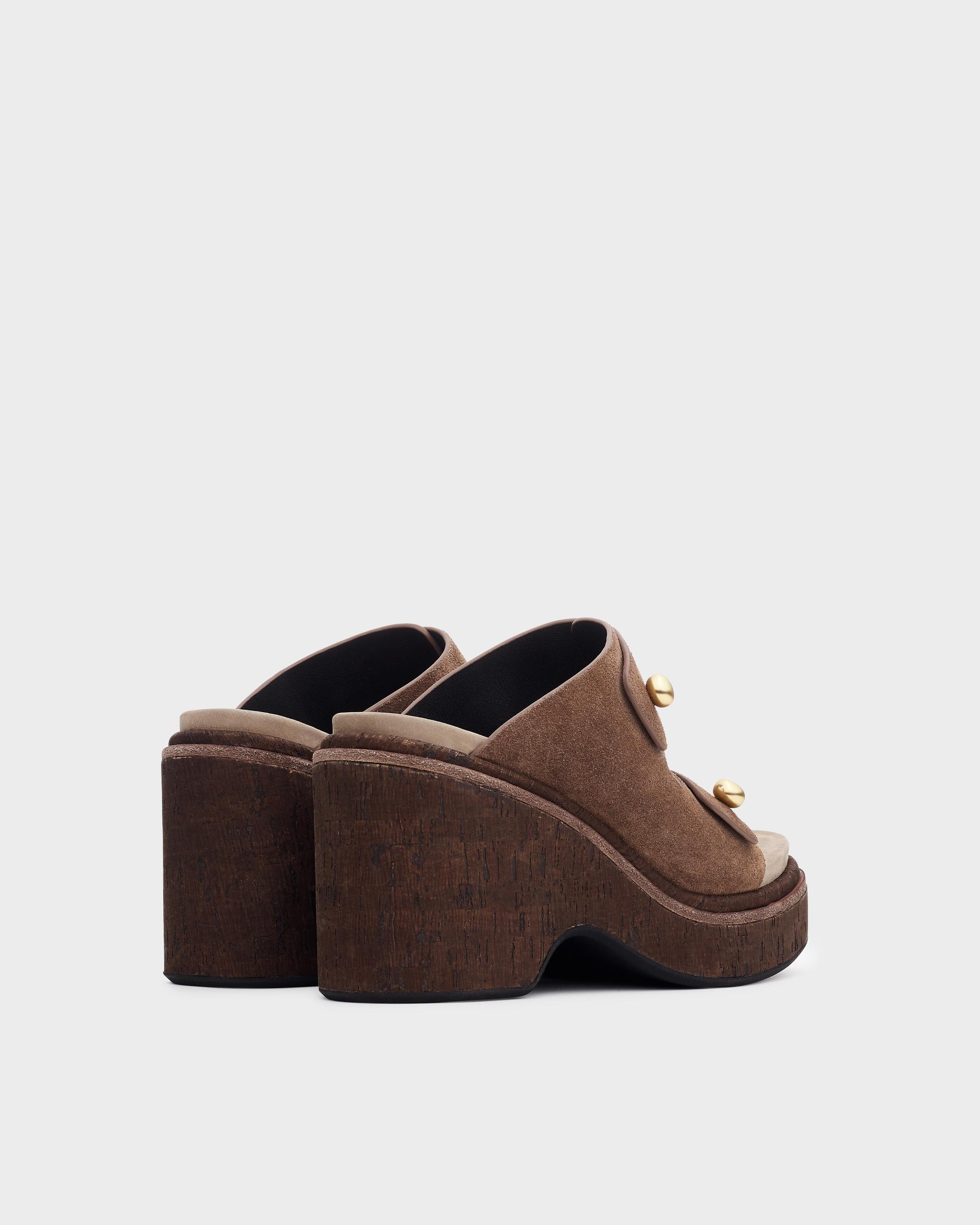 Sommer wedge - suede 1