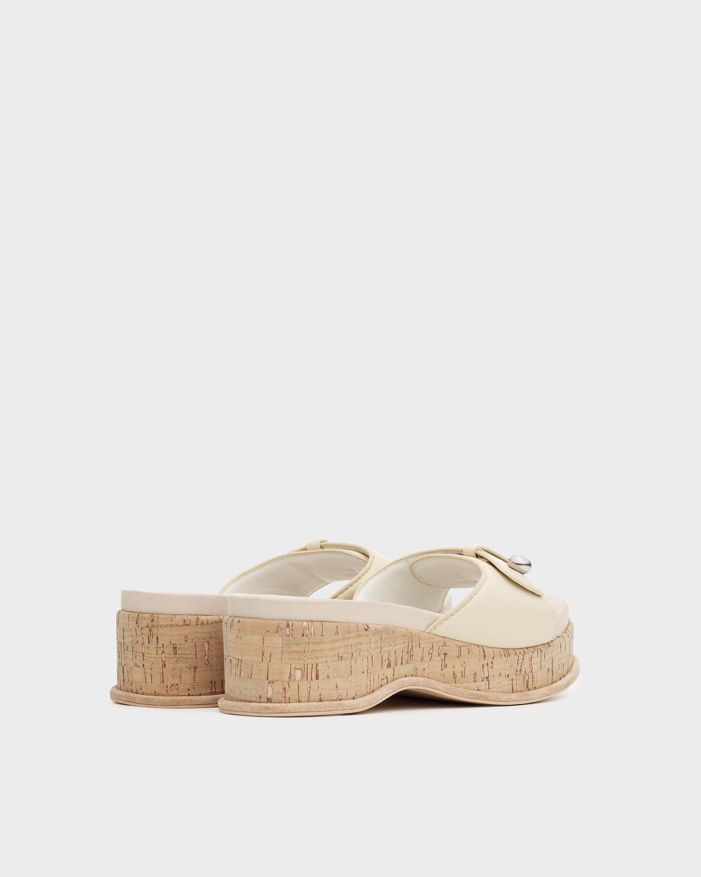 Sommer wedge - leather 1