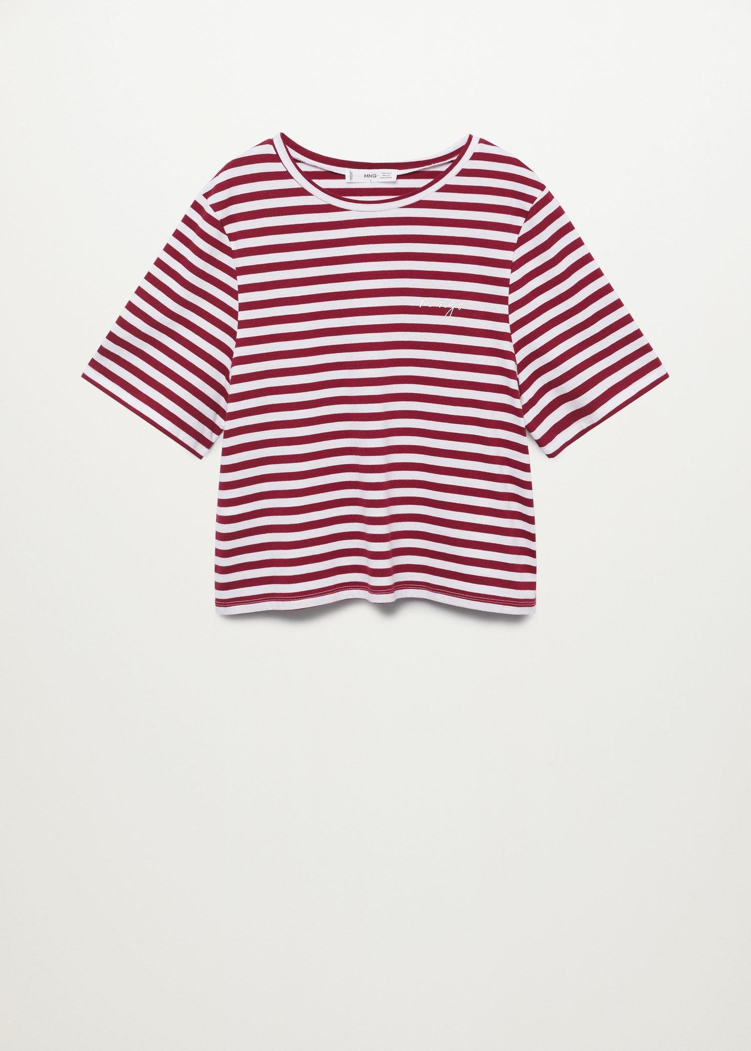 100% recycled cotton t-shirt 6