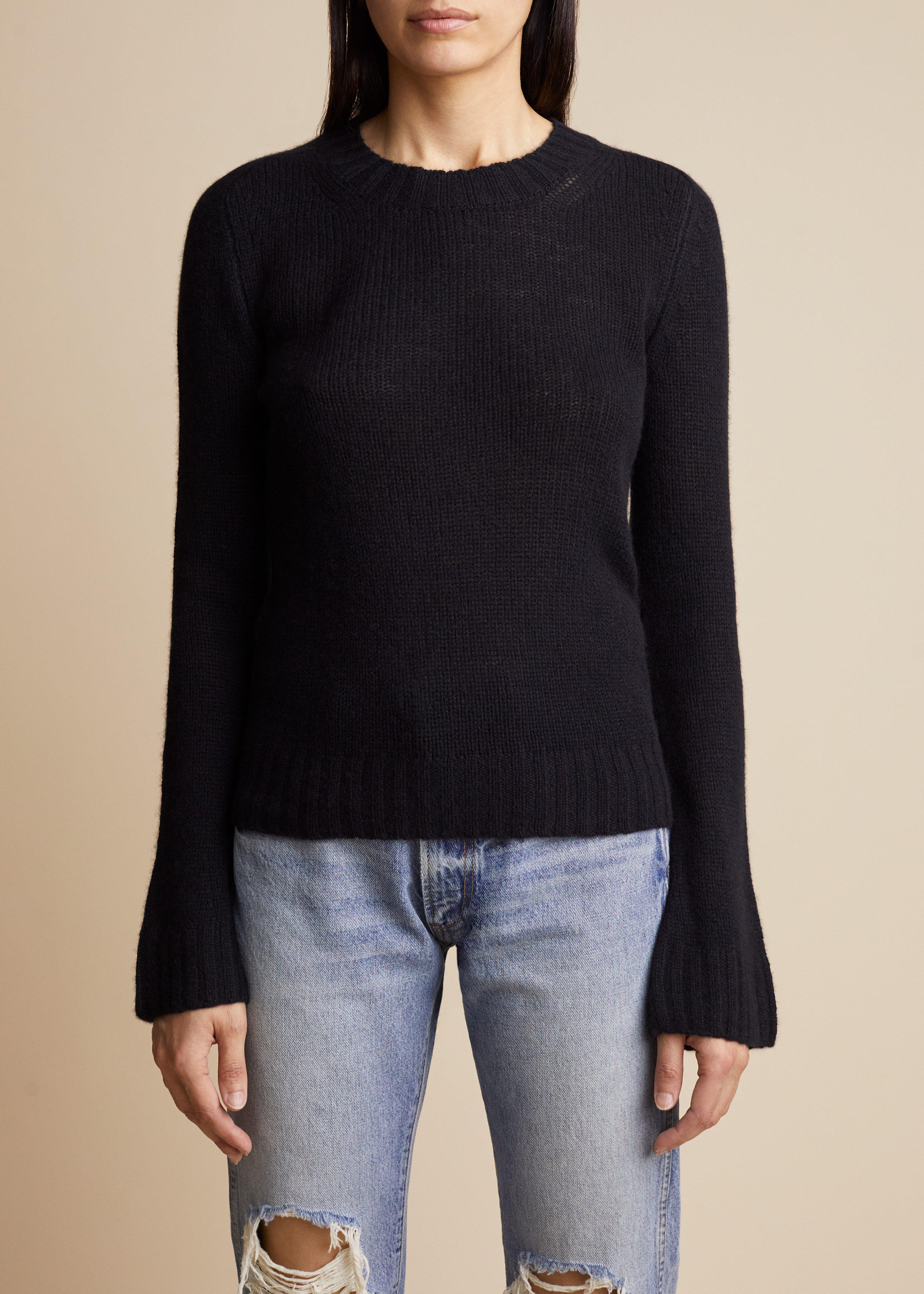 The Mary Jane Sweater in Black