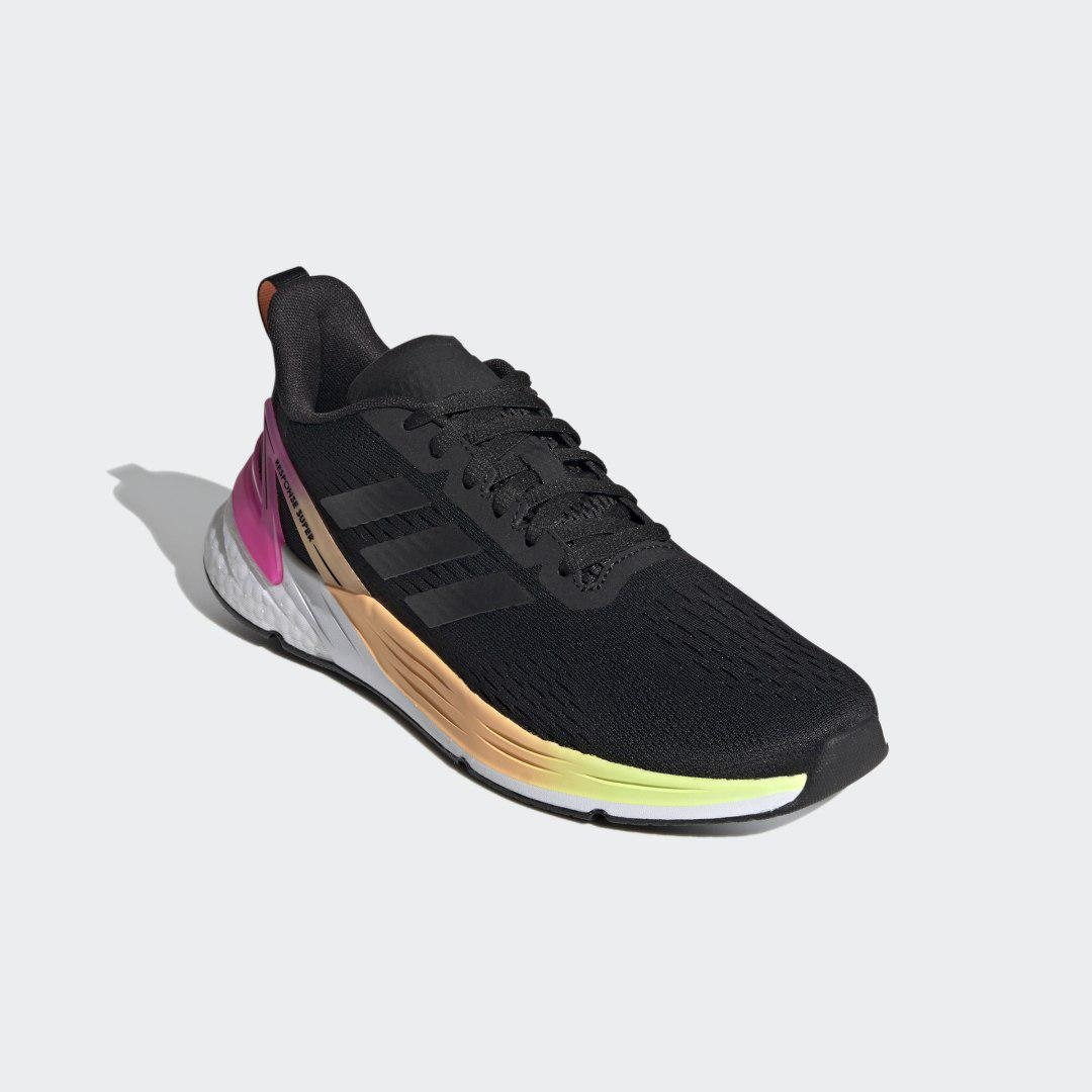 Response Super Shoes Black 5.5 - Womens Running Shoes