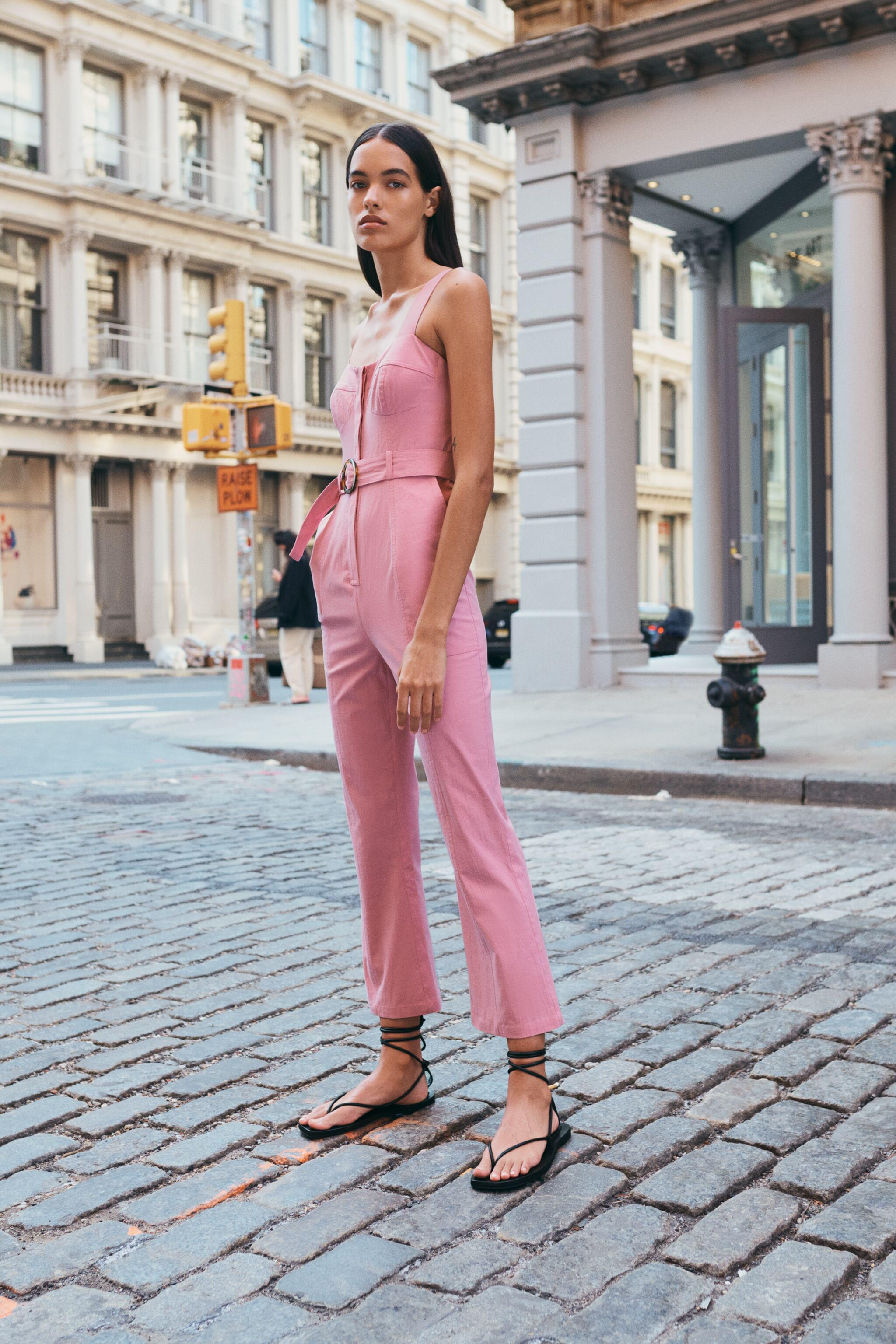 FITTED JUMPSUIT WITH BELT 1