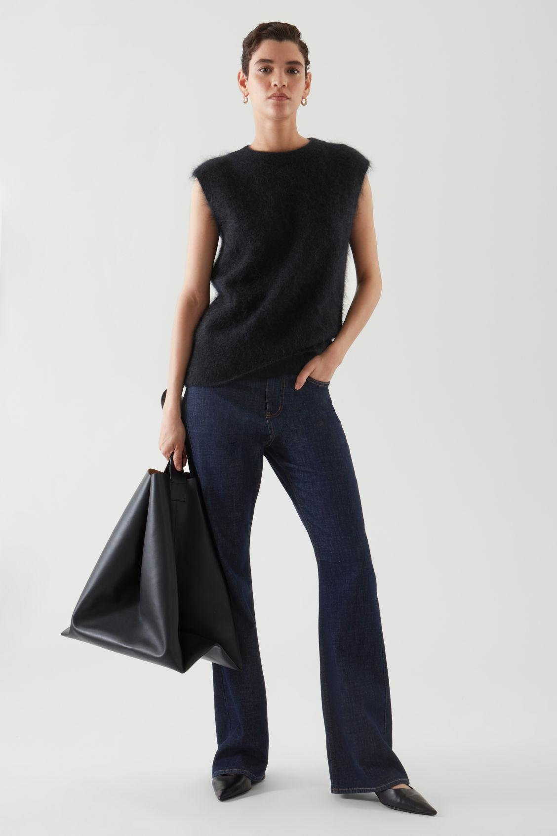 RELAXED-FIT MOHAIR VEST