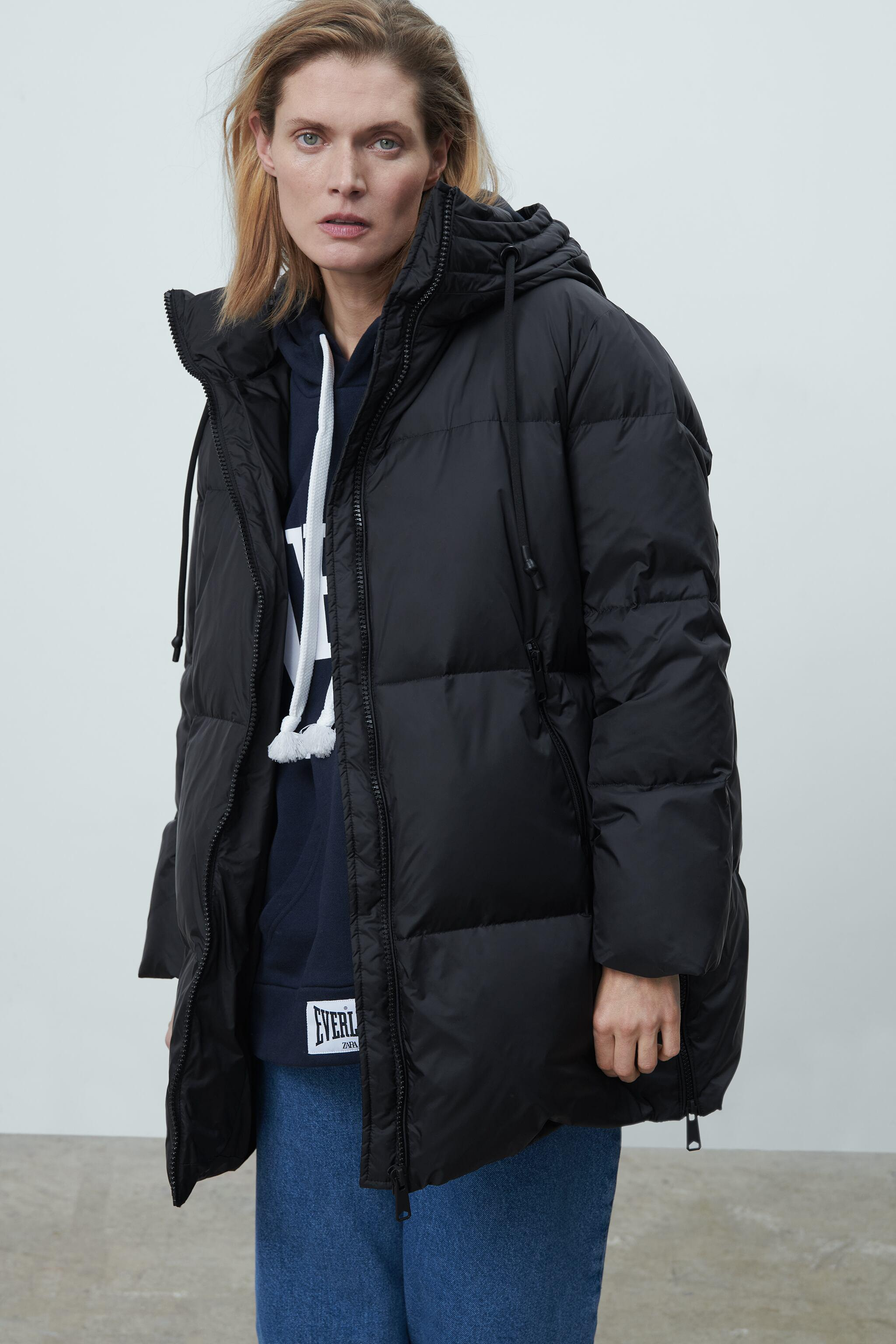 WATER AND WIND PROTECTION OVERSIZED DOWN COAT 5