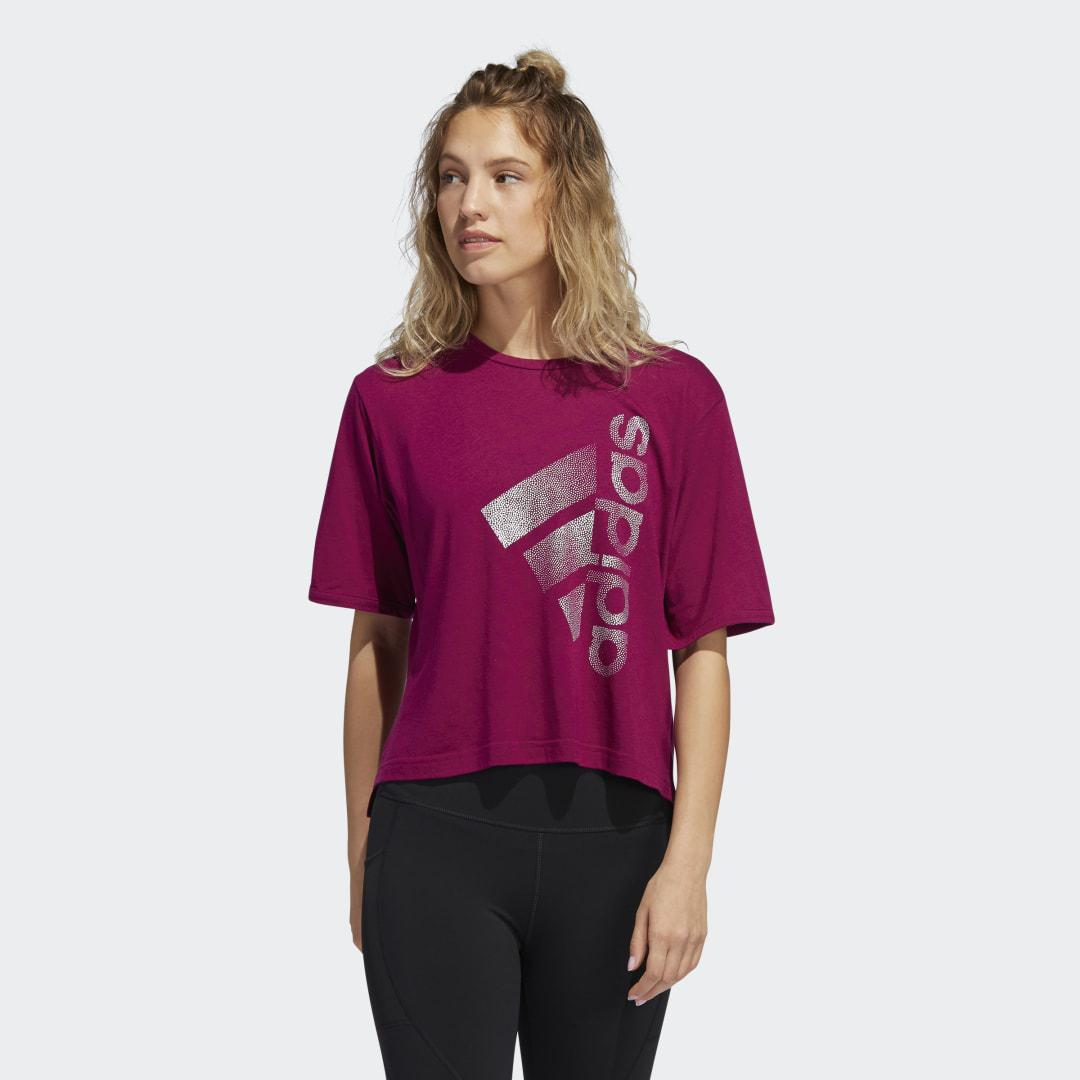 Holiday Tee Power Berry XL - Womens Training T Shirts