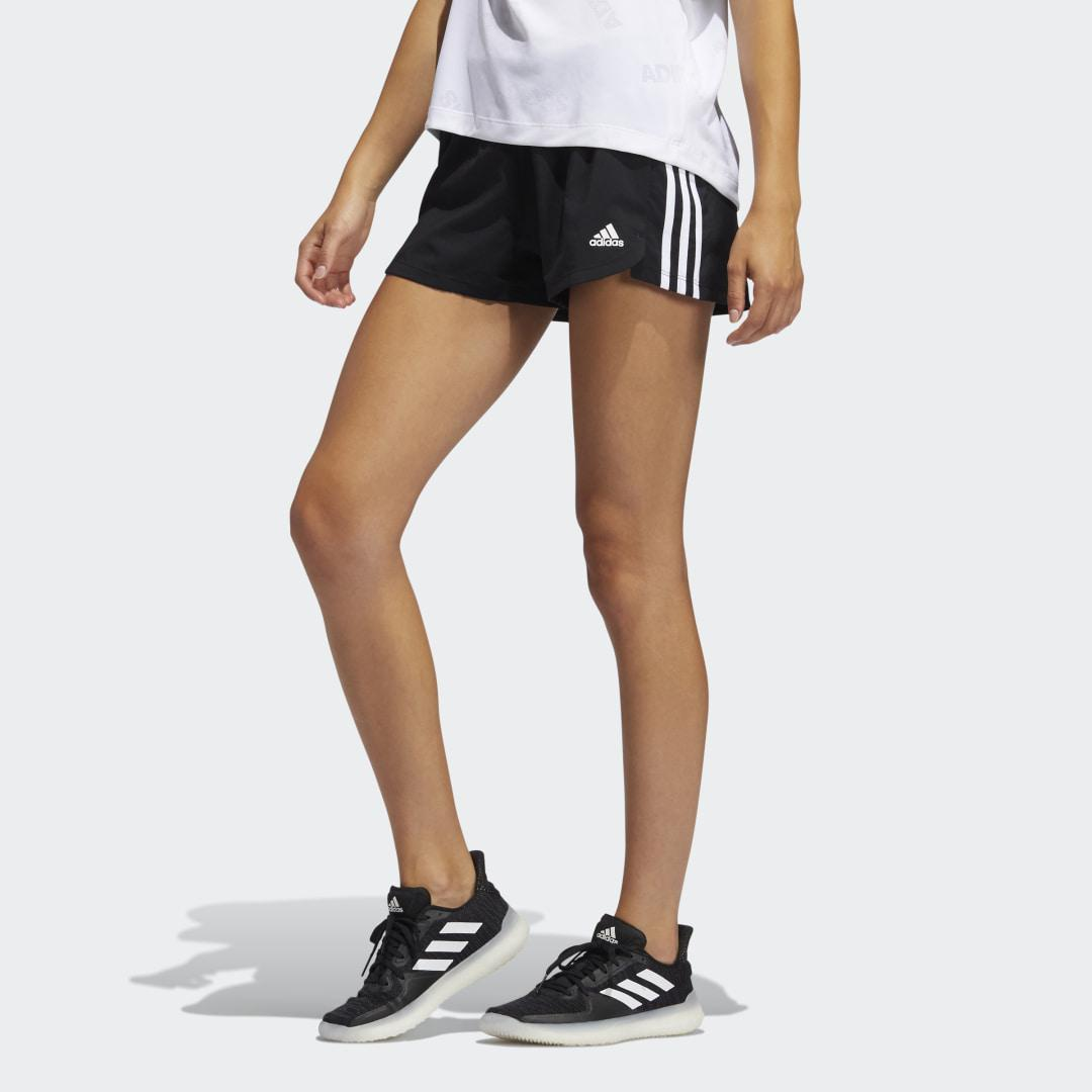 Pacer 3-Stripes Woven Shorts Black