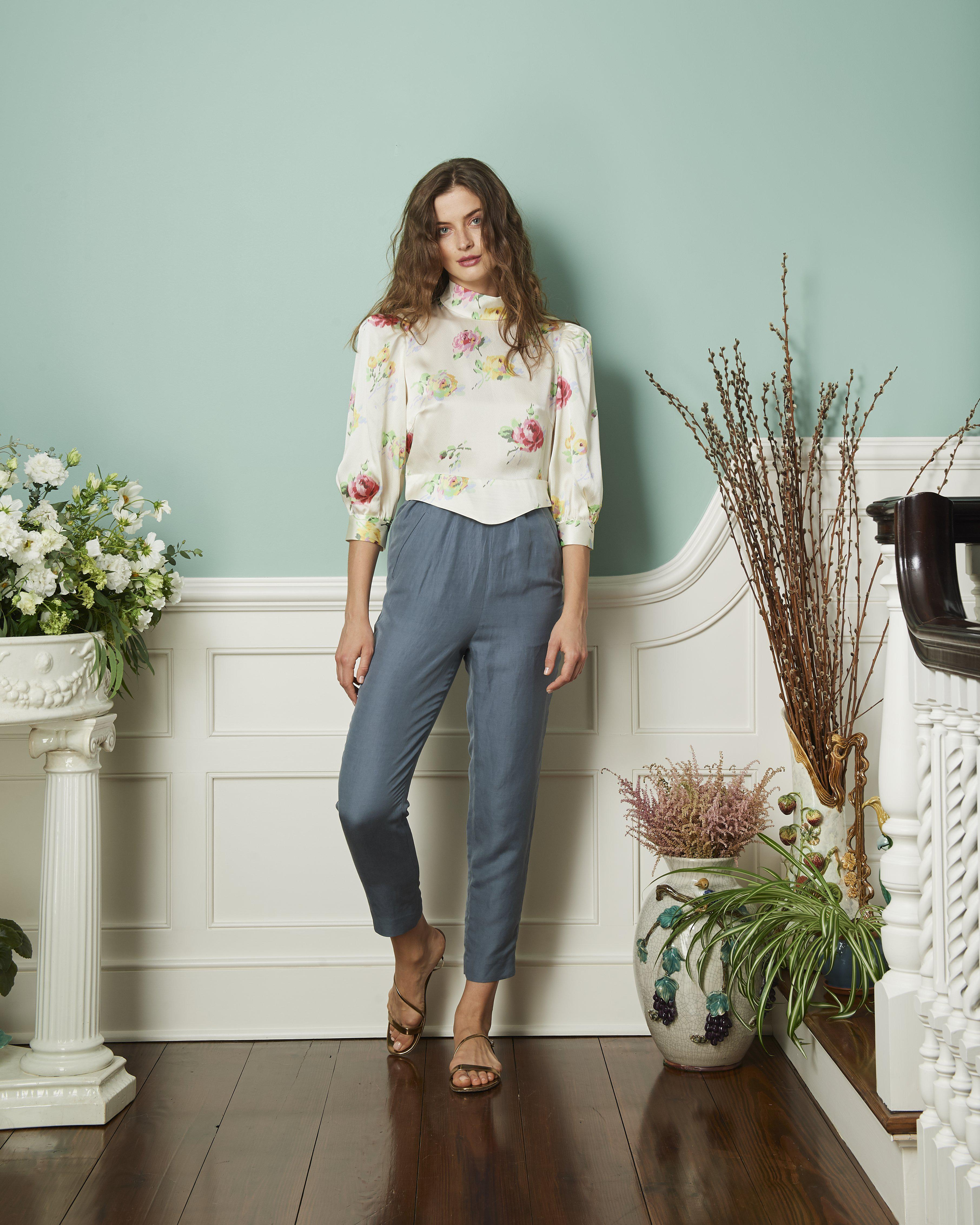 The Adele Blouse | Tossed Roses