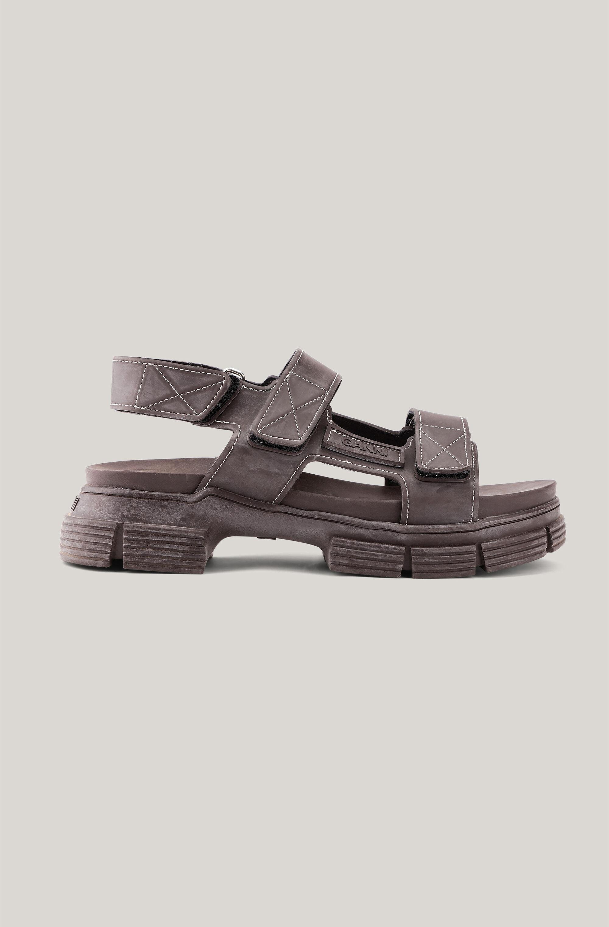 Recycled Rubber Velcro Sandal