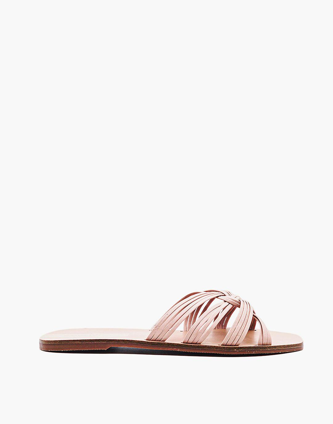 KAANAS Miciela Strappy Knot Leather Sandal