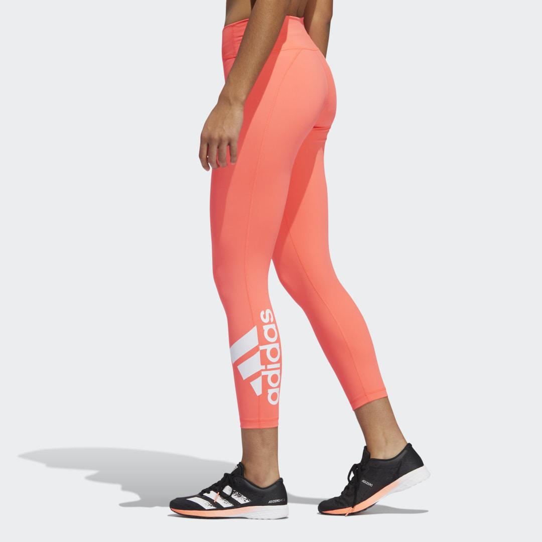 Circuit Badge of Sport 7/8 Tights Signal Pink XL - Womens Training Pants 3