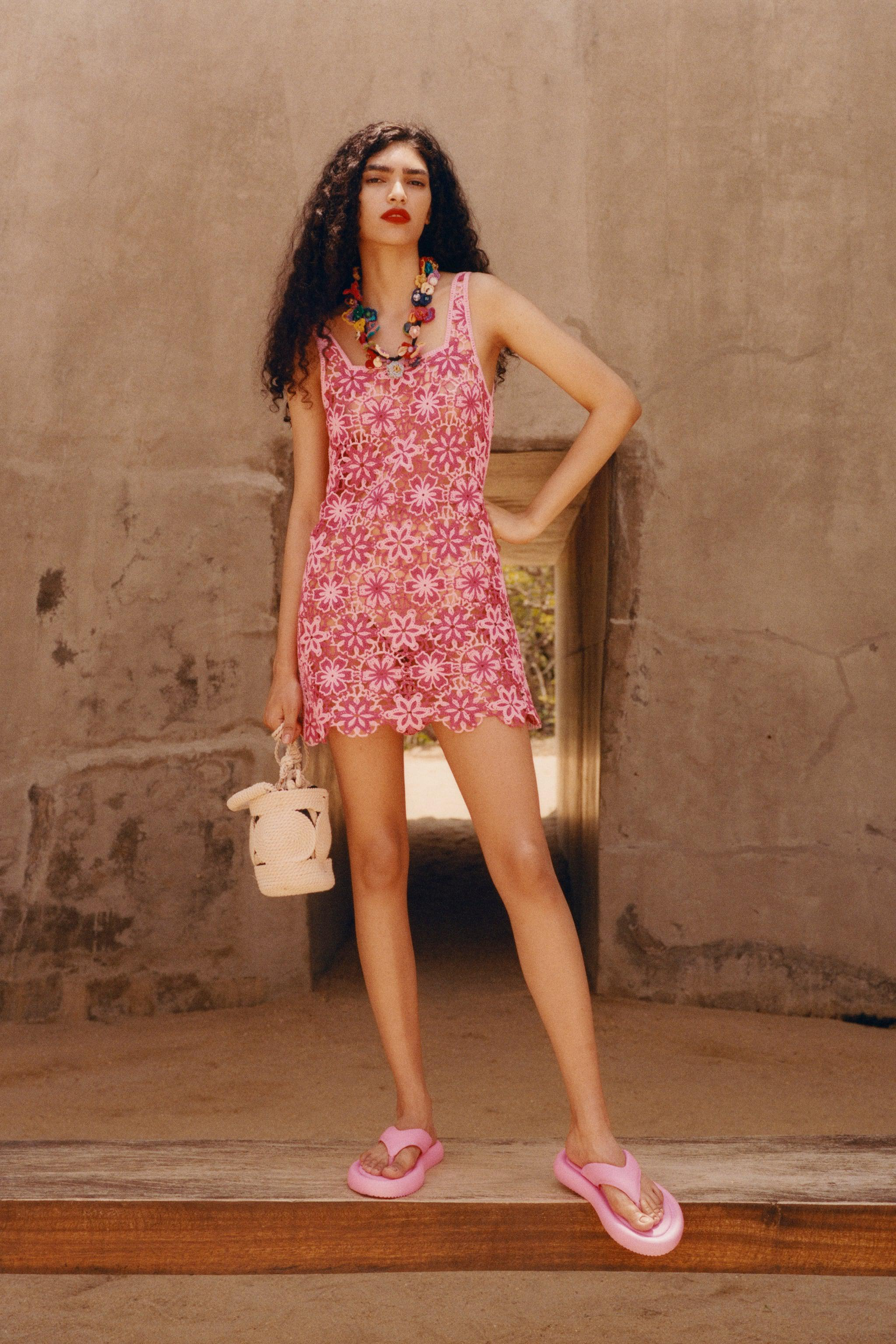 CROCHET FLORAL DRESS SPECIAL EDITION