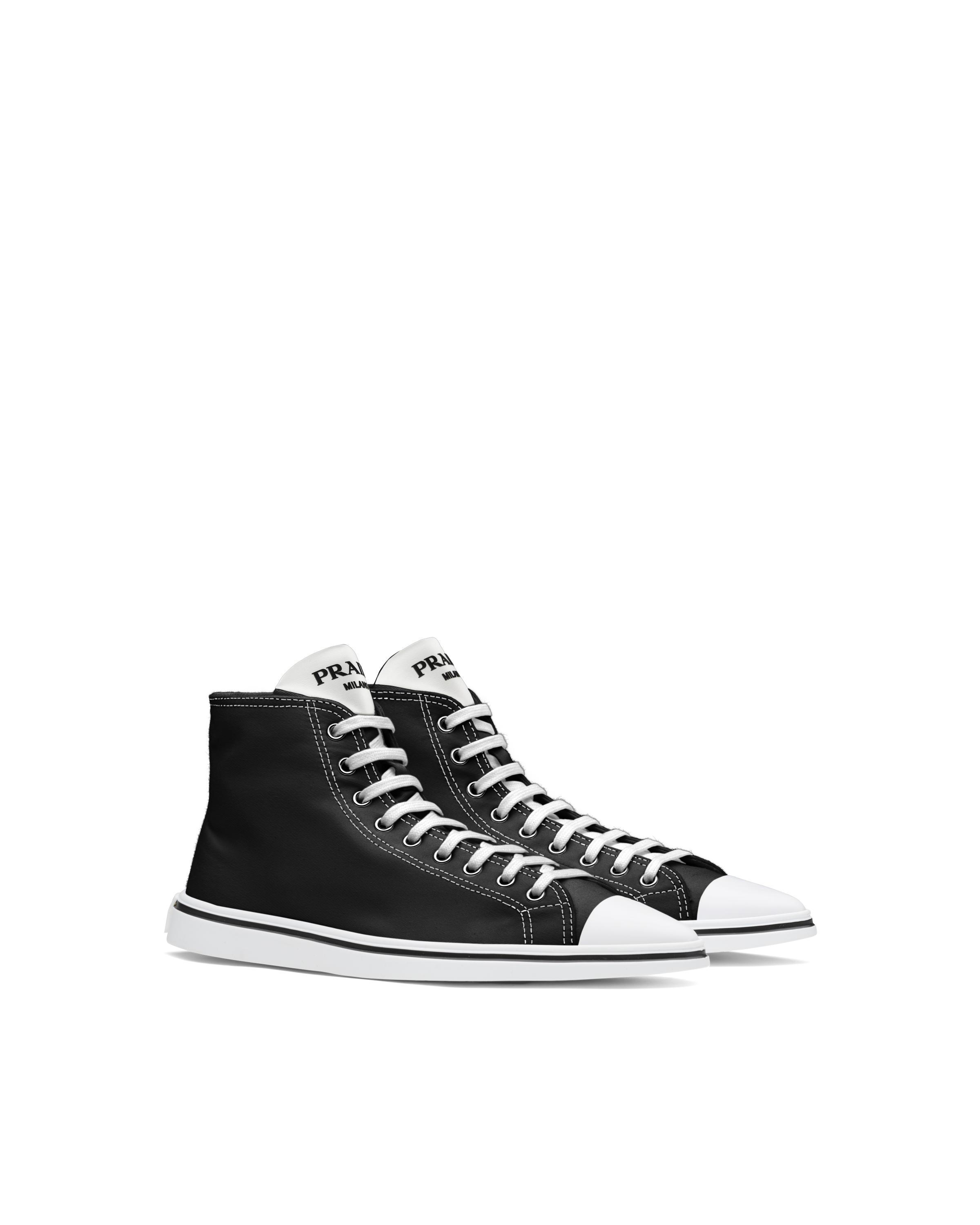 Synthesis High-top Sneakers Women Black 5