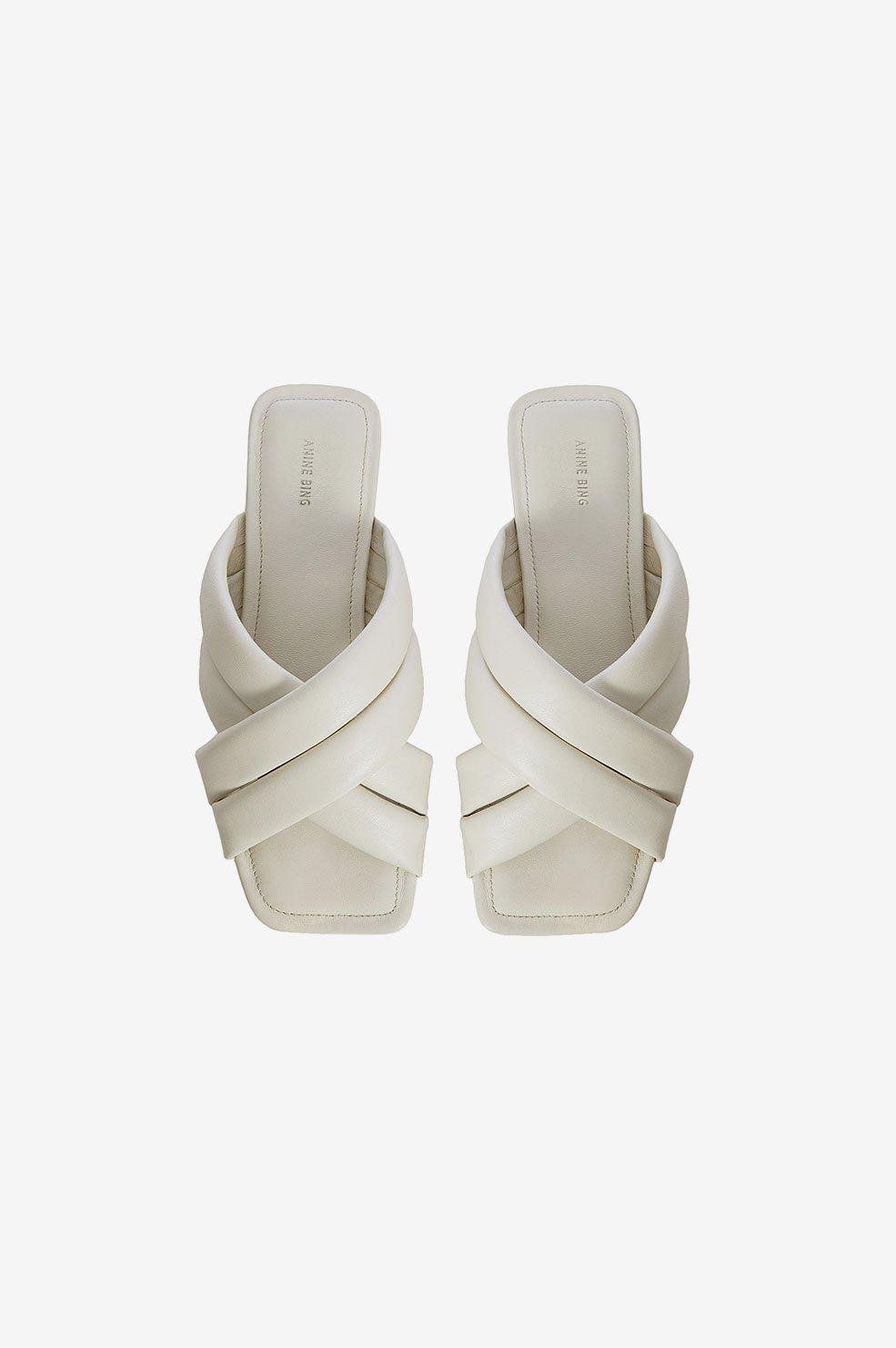 Eve Sandals - Ivory 1