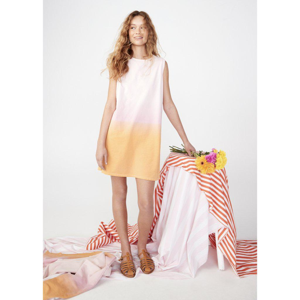 The Organic Ombre Ivy - Pink/Gold 1