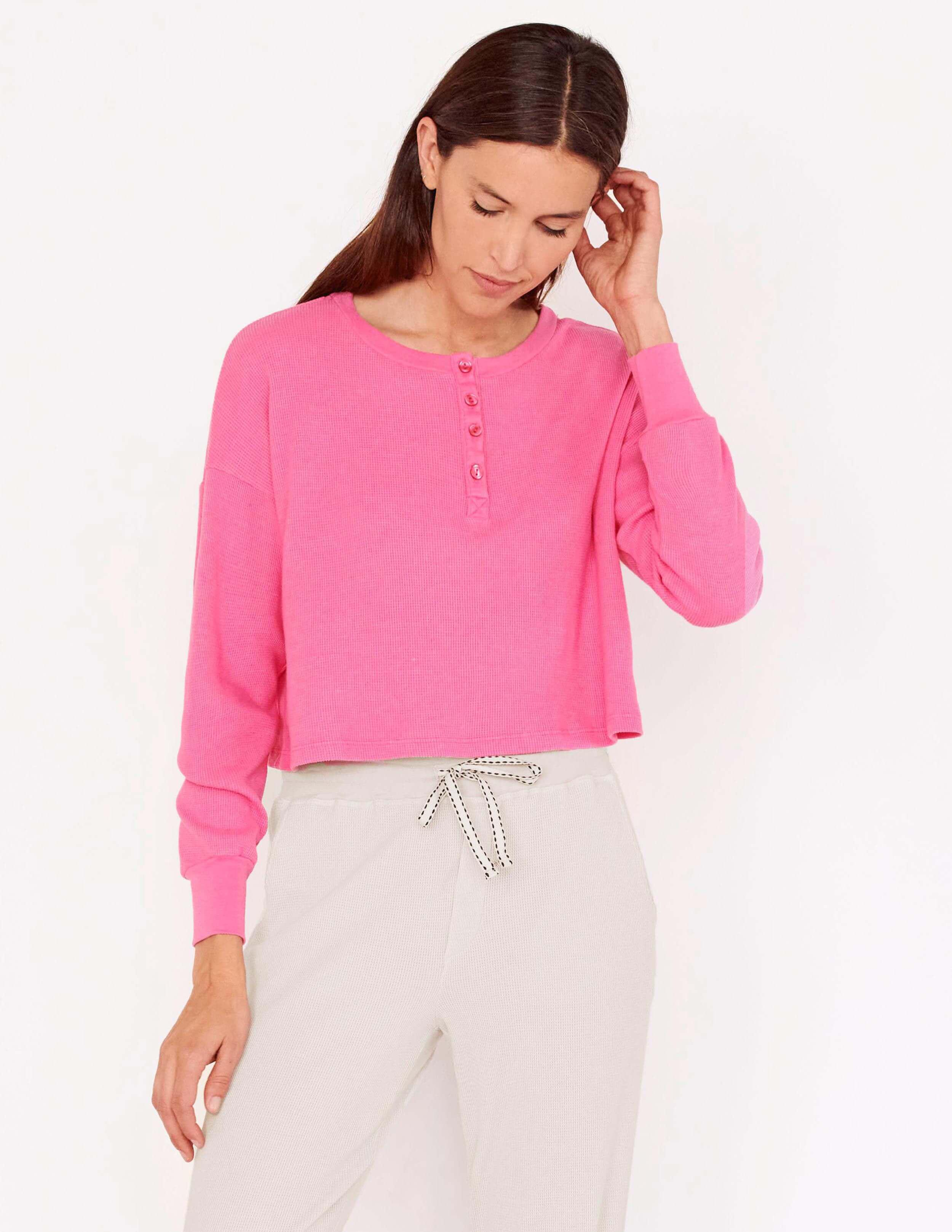 Thermal Boxy Henley