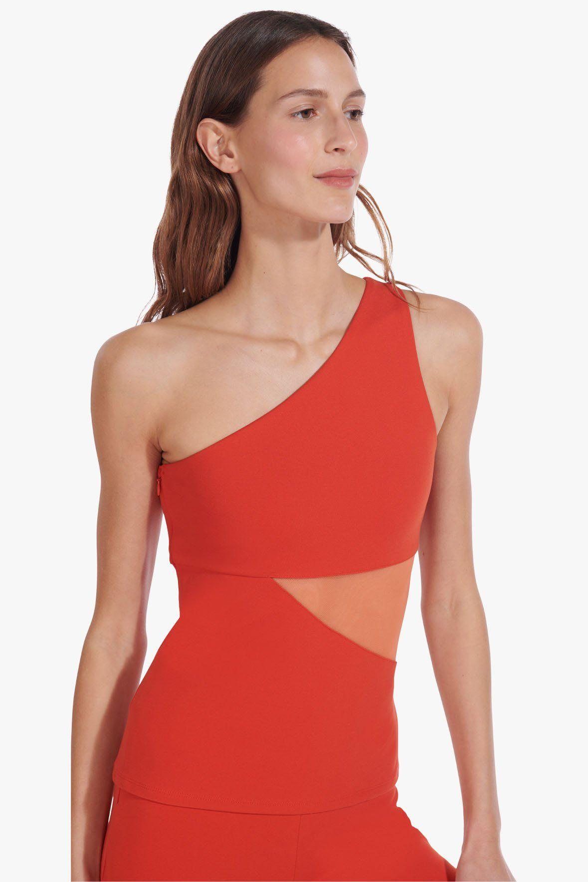 AETHER TOP | FIERY RED NECTARINE