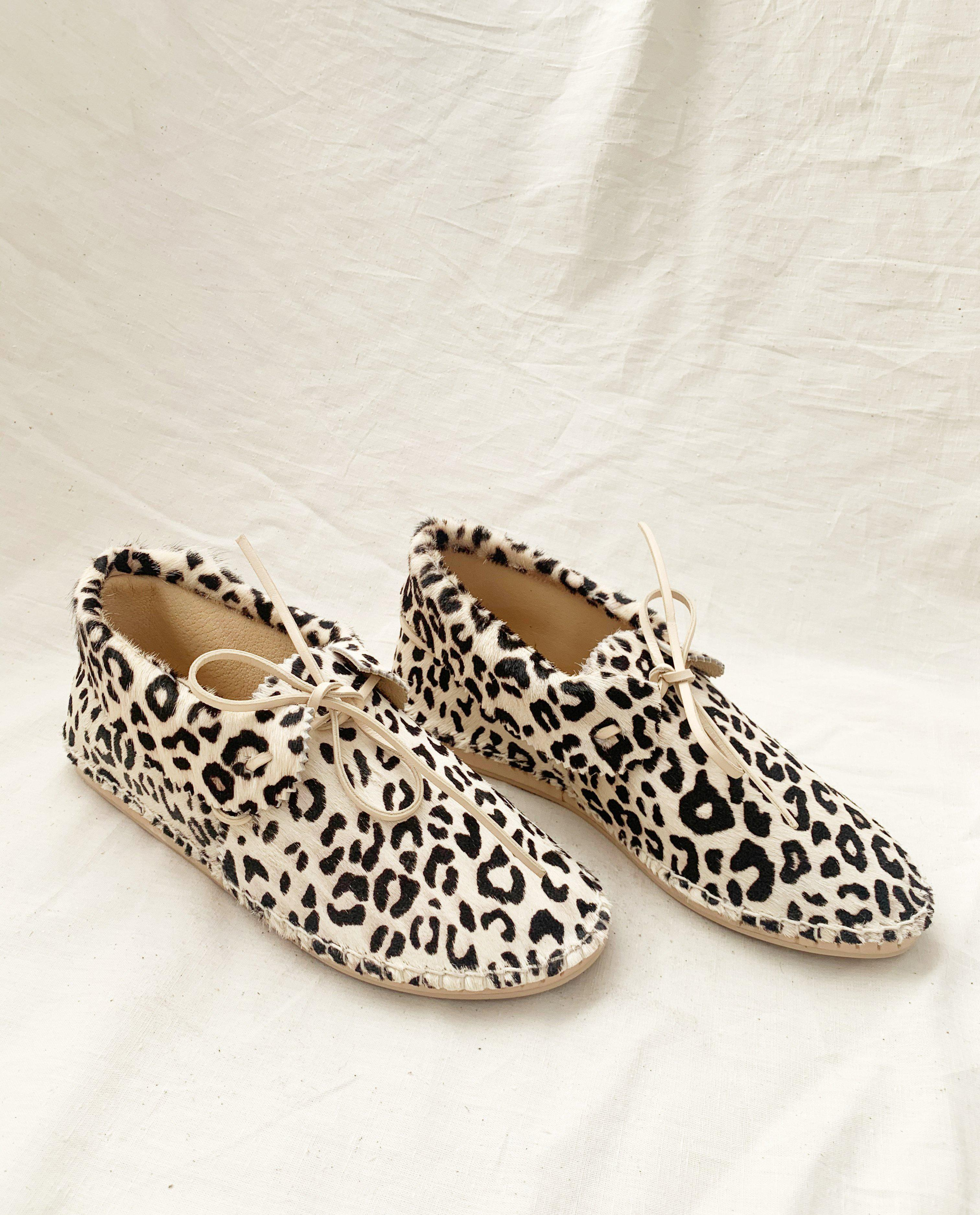 The Canyon Moccasin. -- Cream Leopard