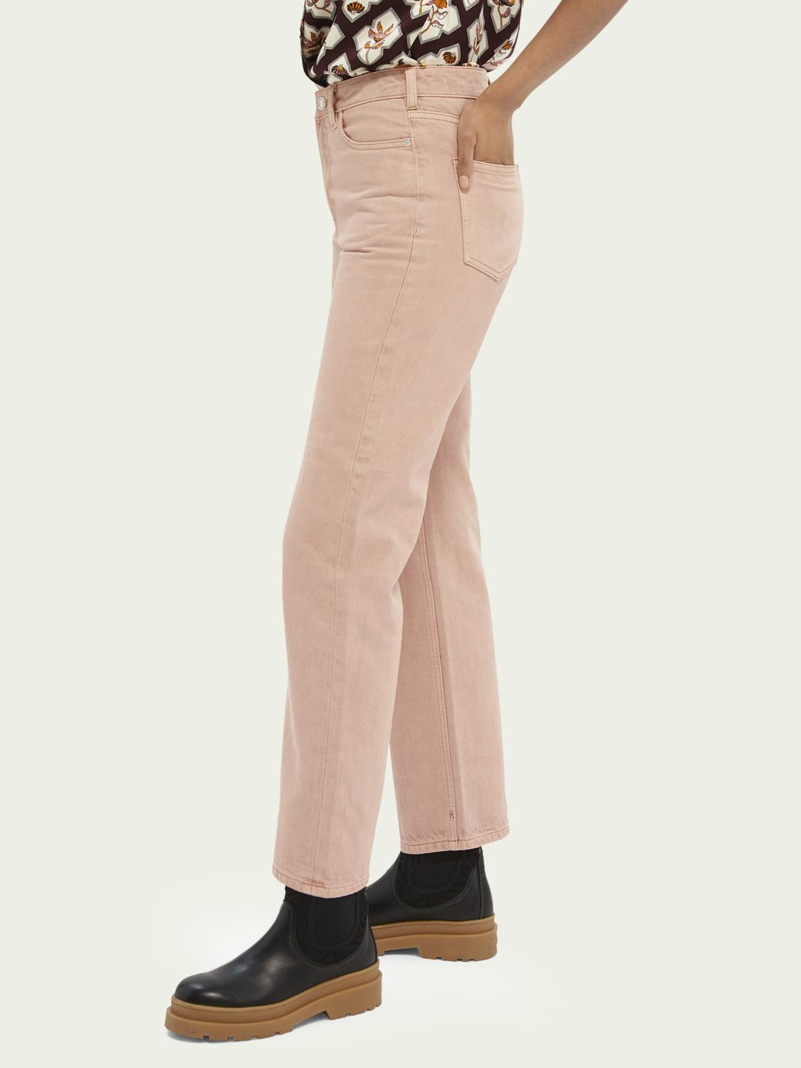 Tailored cotton jeans — Pastel Dyes 3