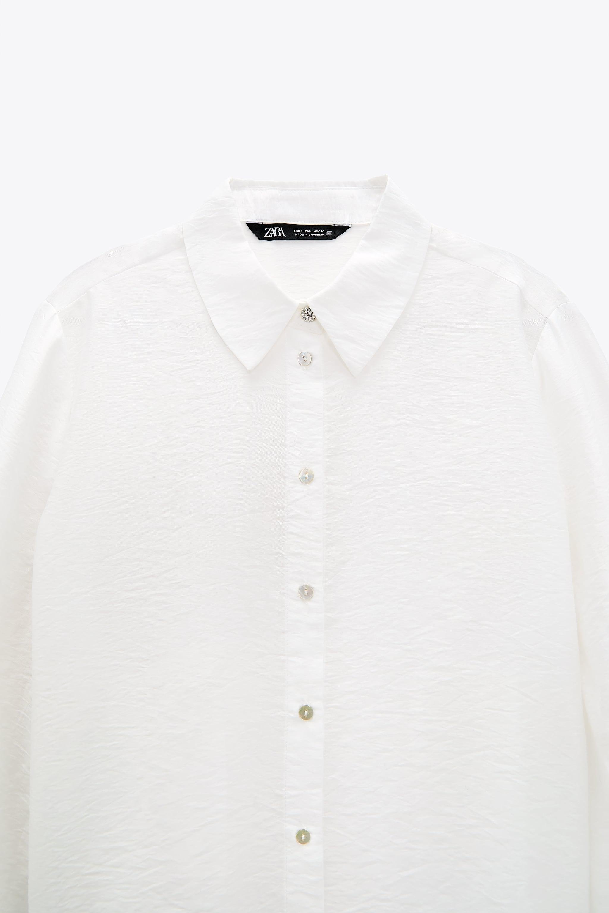 SHIRT WITH JEWEL BUTTONS 8