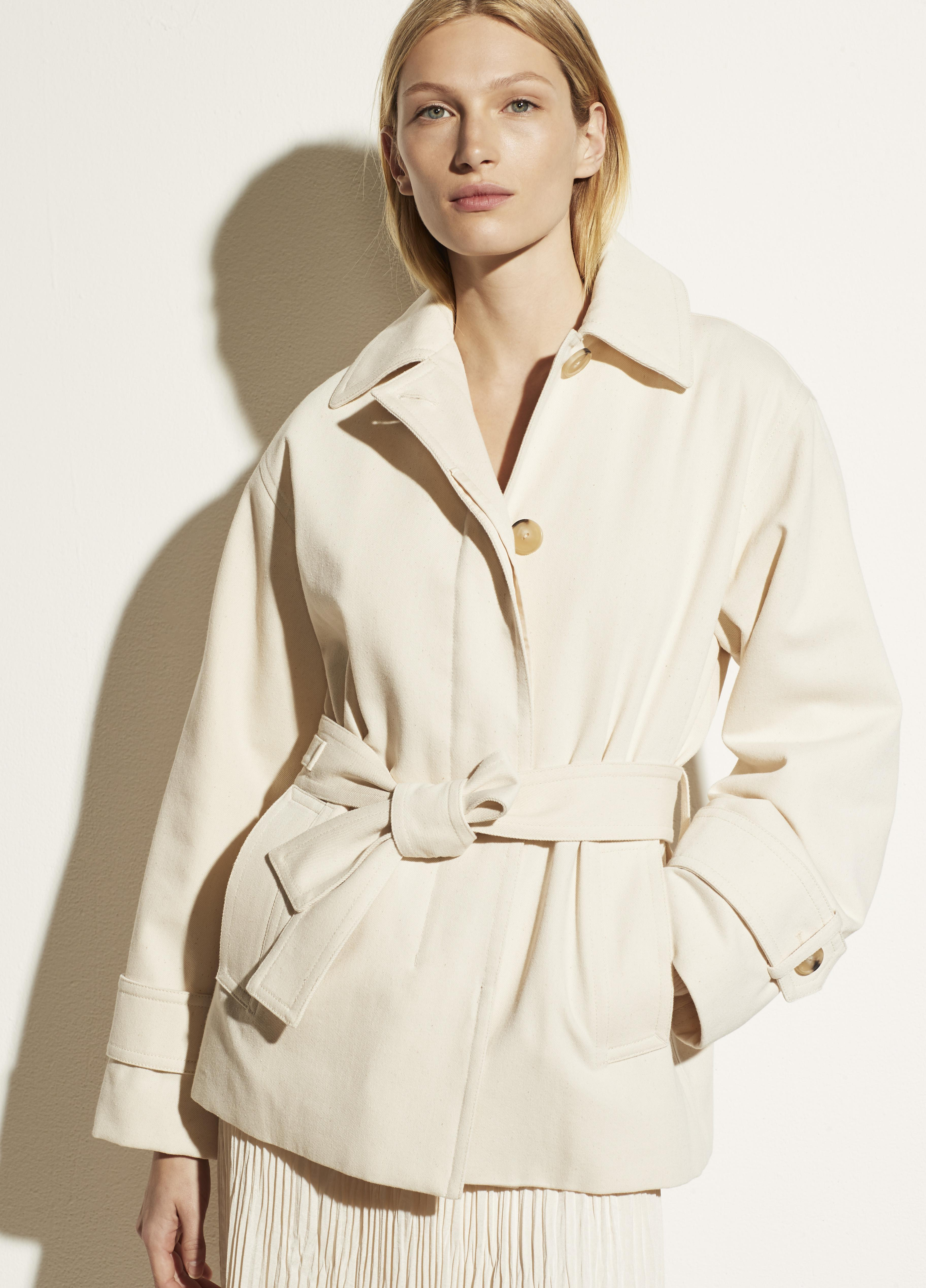 Belted Casual Jacket 0
