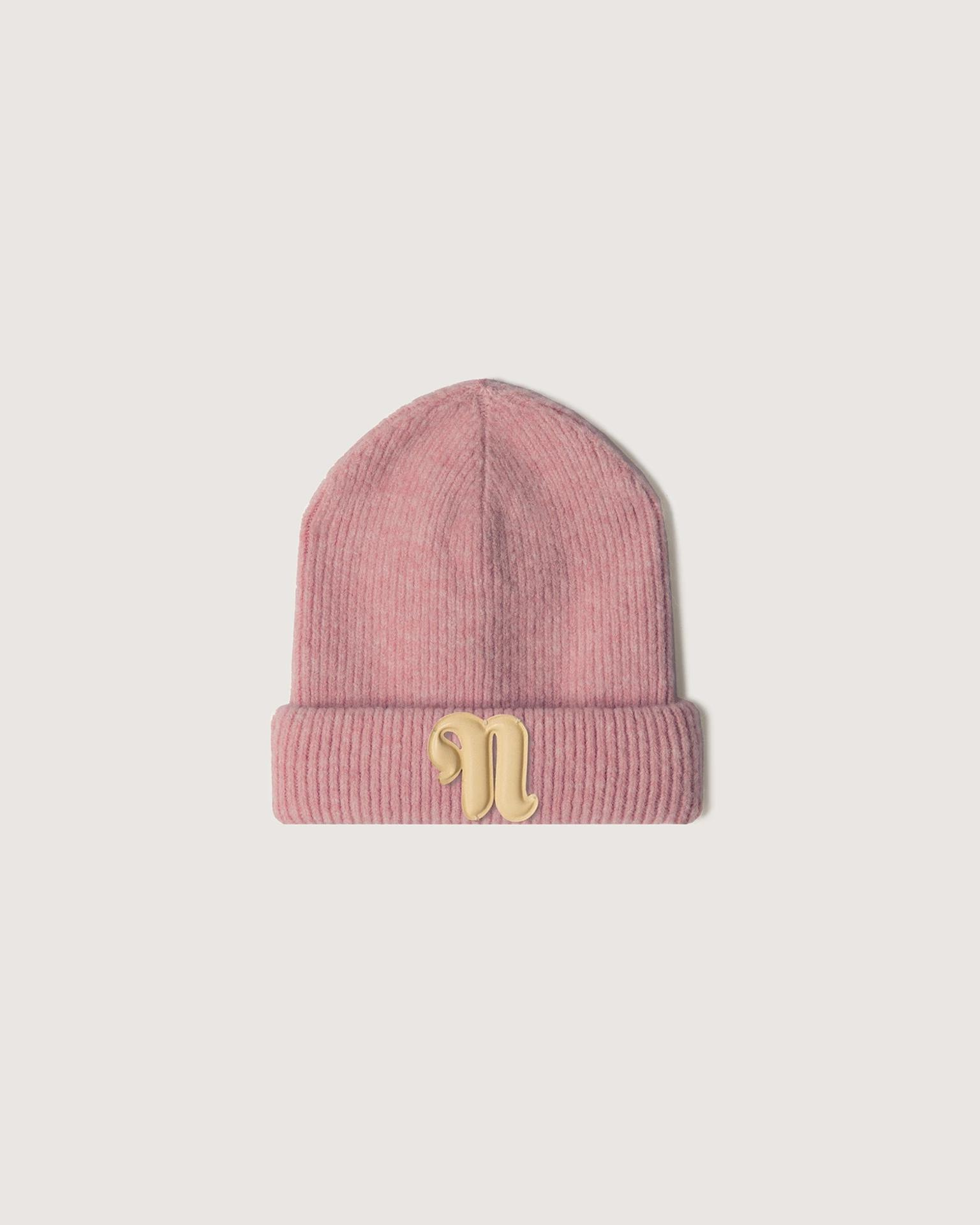 HIGGINS - Ribbed-knit beanie - Pink