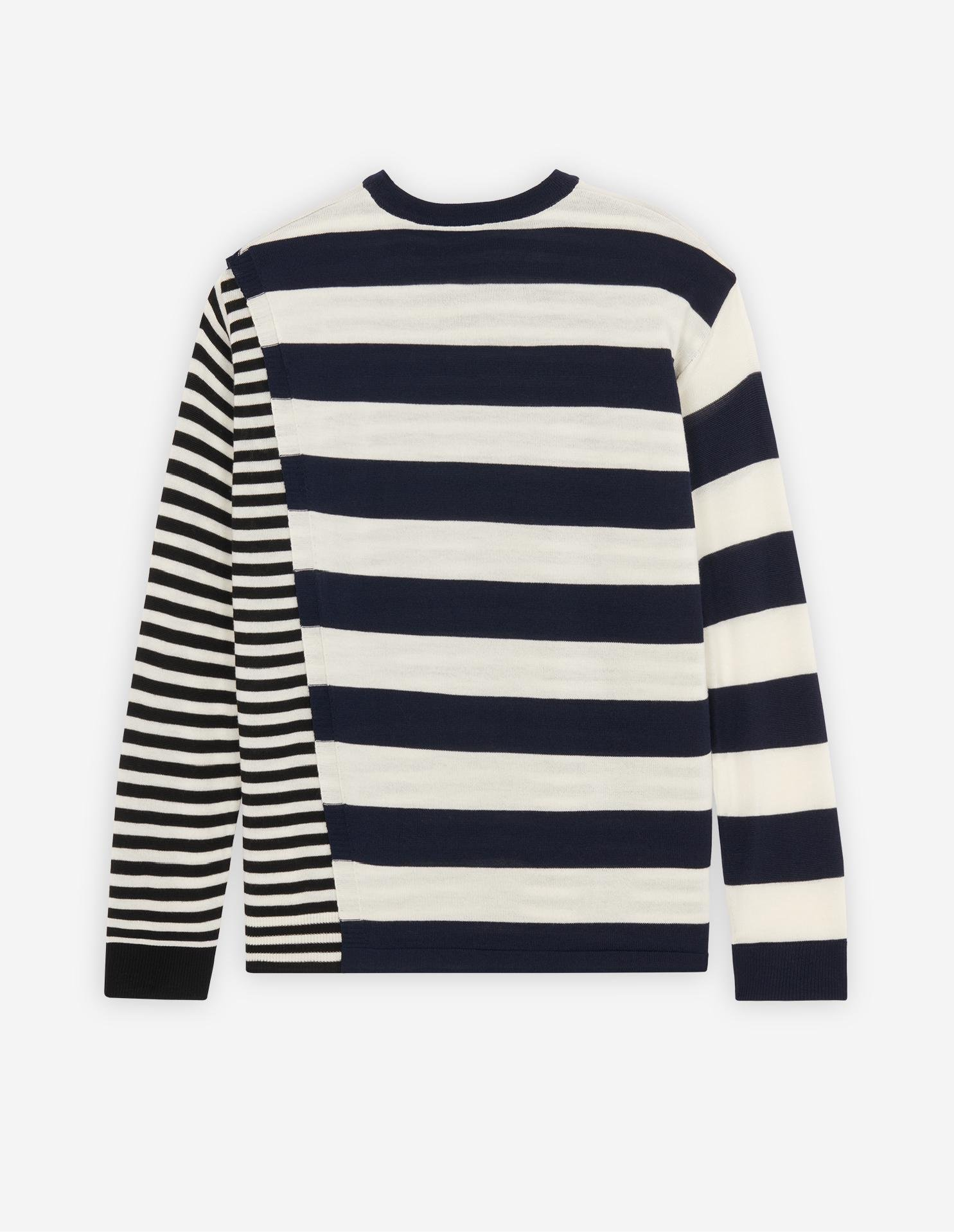DOUBLE LAYERED CREW NECK JUMPER 4